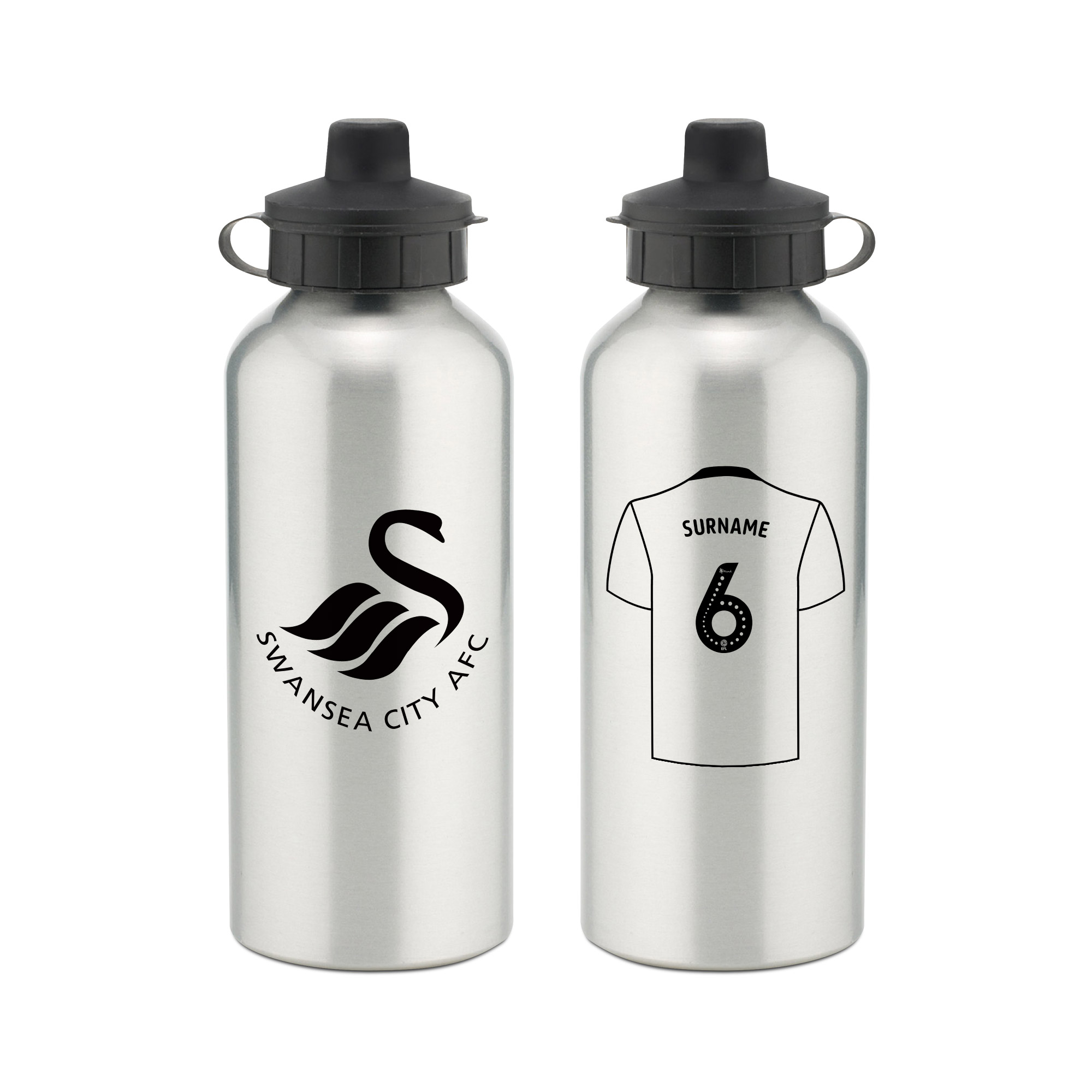 Swansea City AFC Aluminium Water Bottle