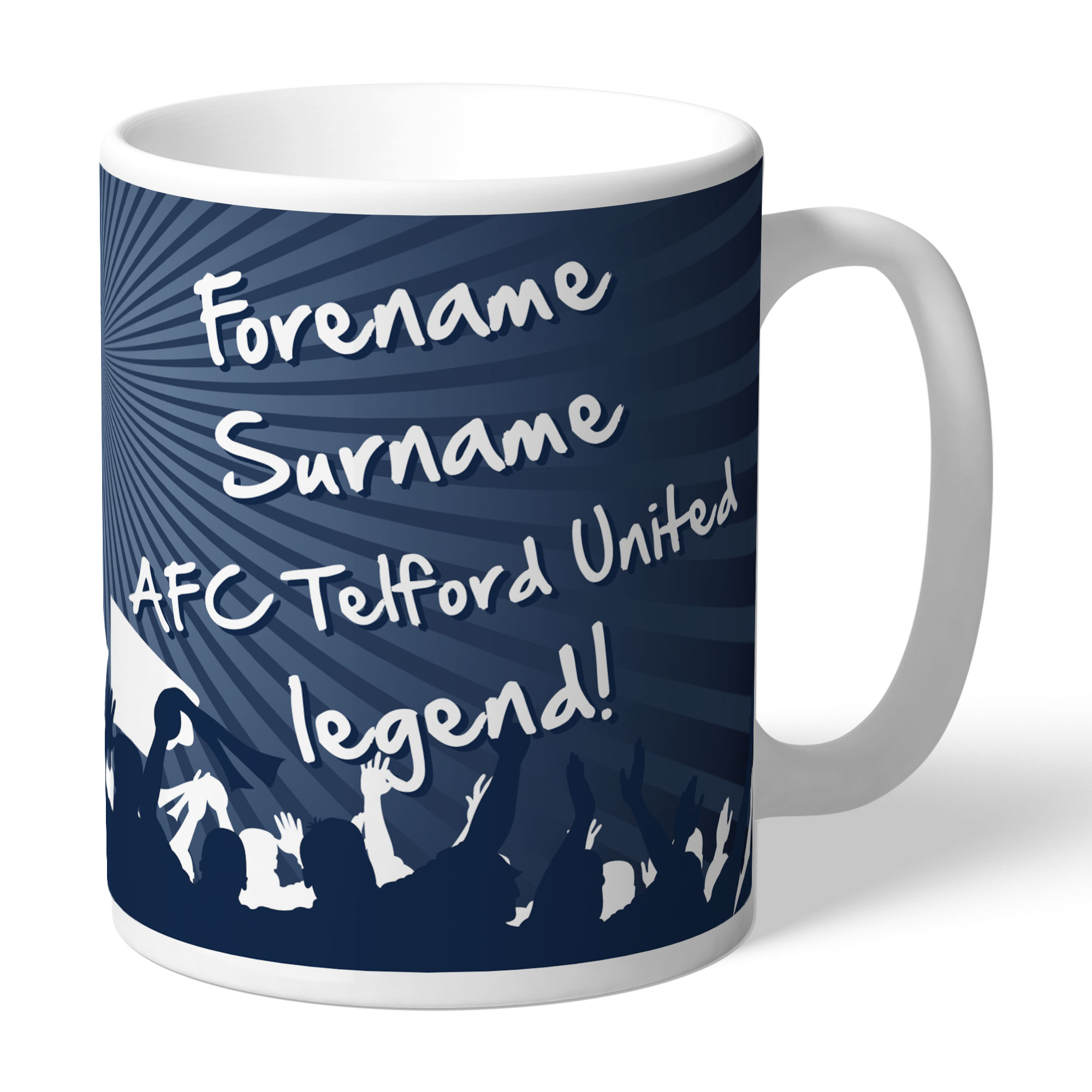 AFC Telford United Legend Mug