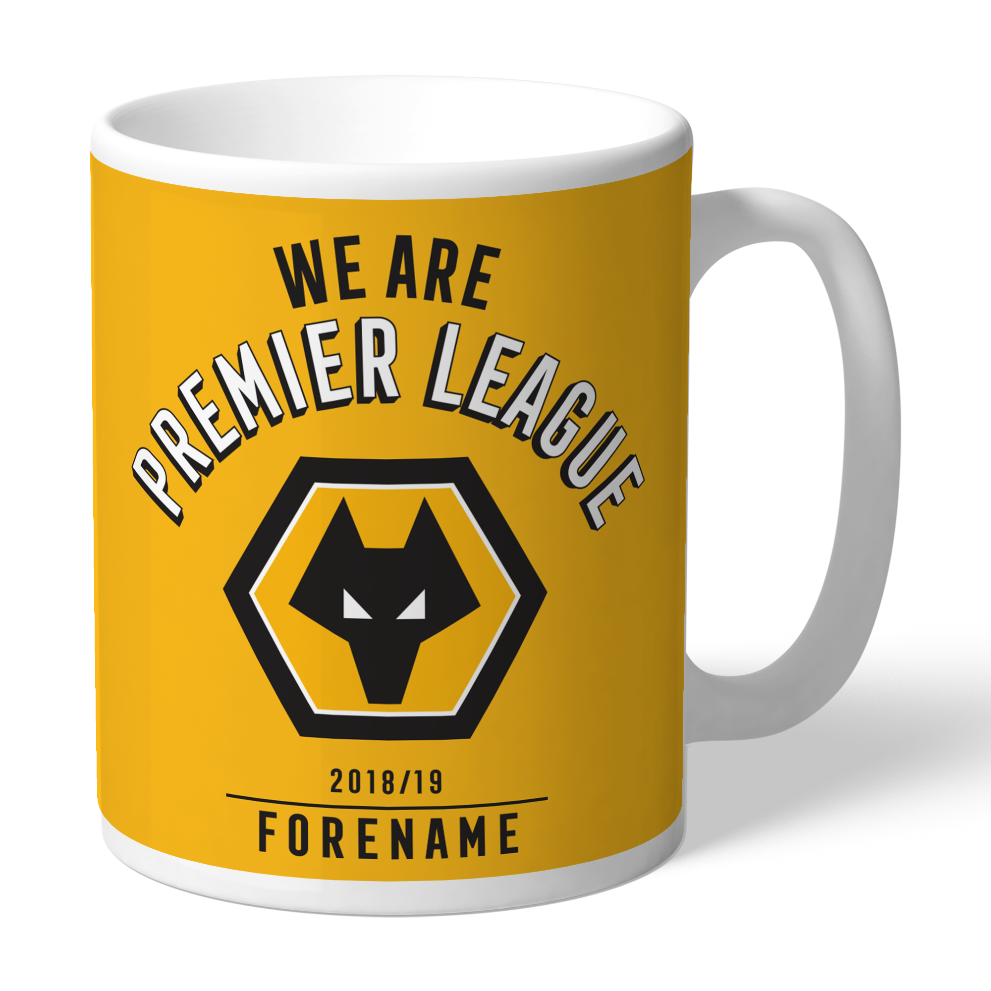 Wolves We Are Premier League Mug