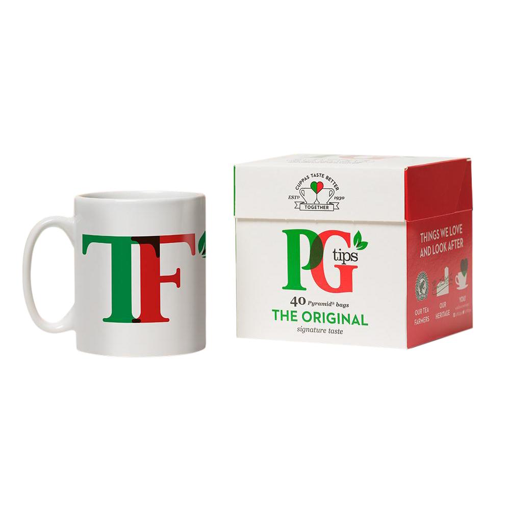 PG Tips Personalised Mug & Tea Set