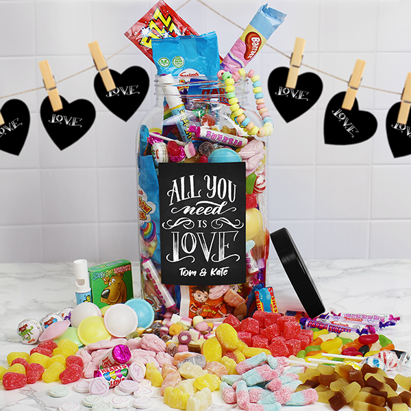 All You Need Is Love Retro Jar - Large