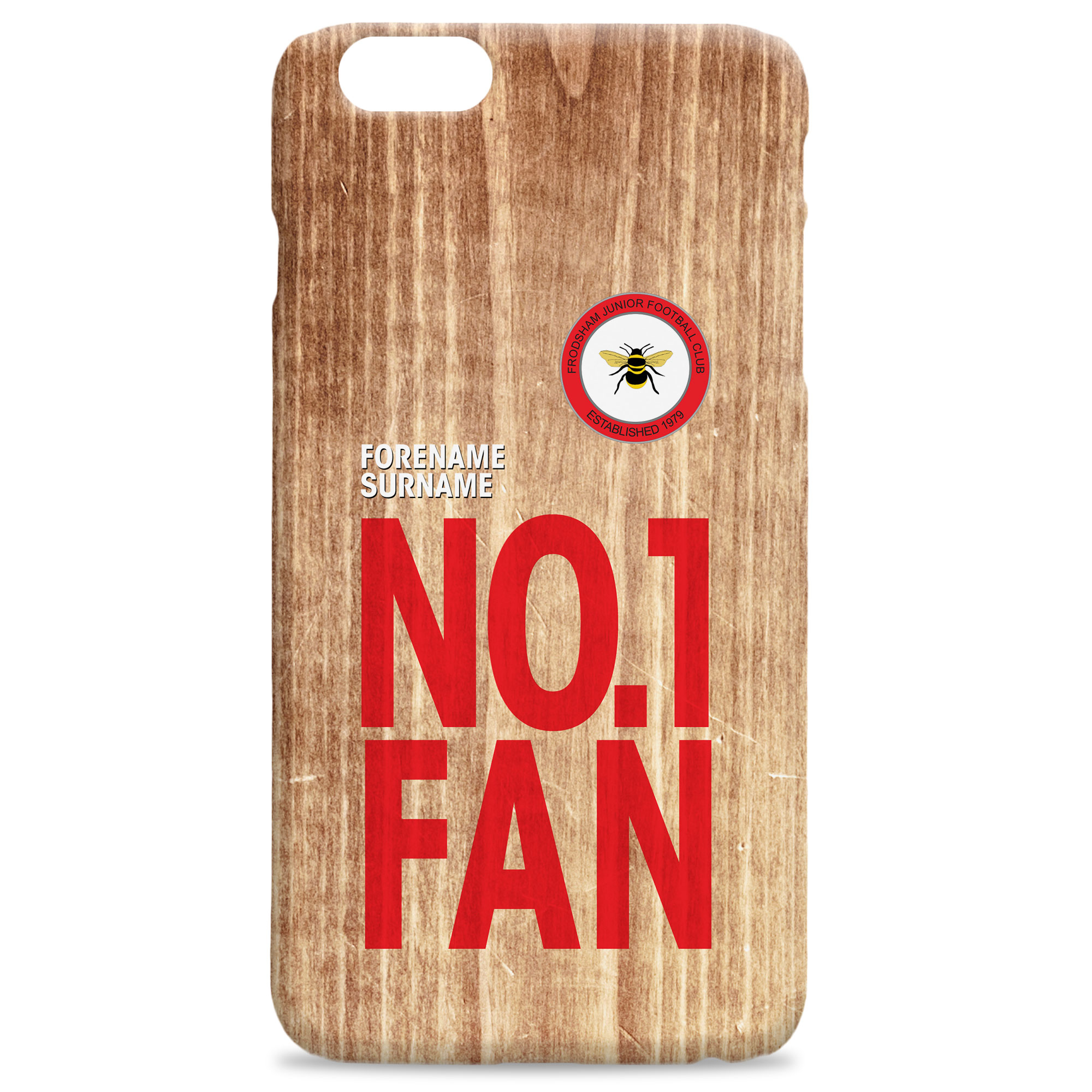 Frodsham JFC No 1 Fan Hard Back Phone Case