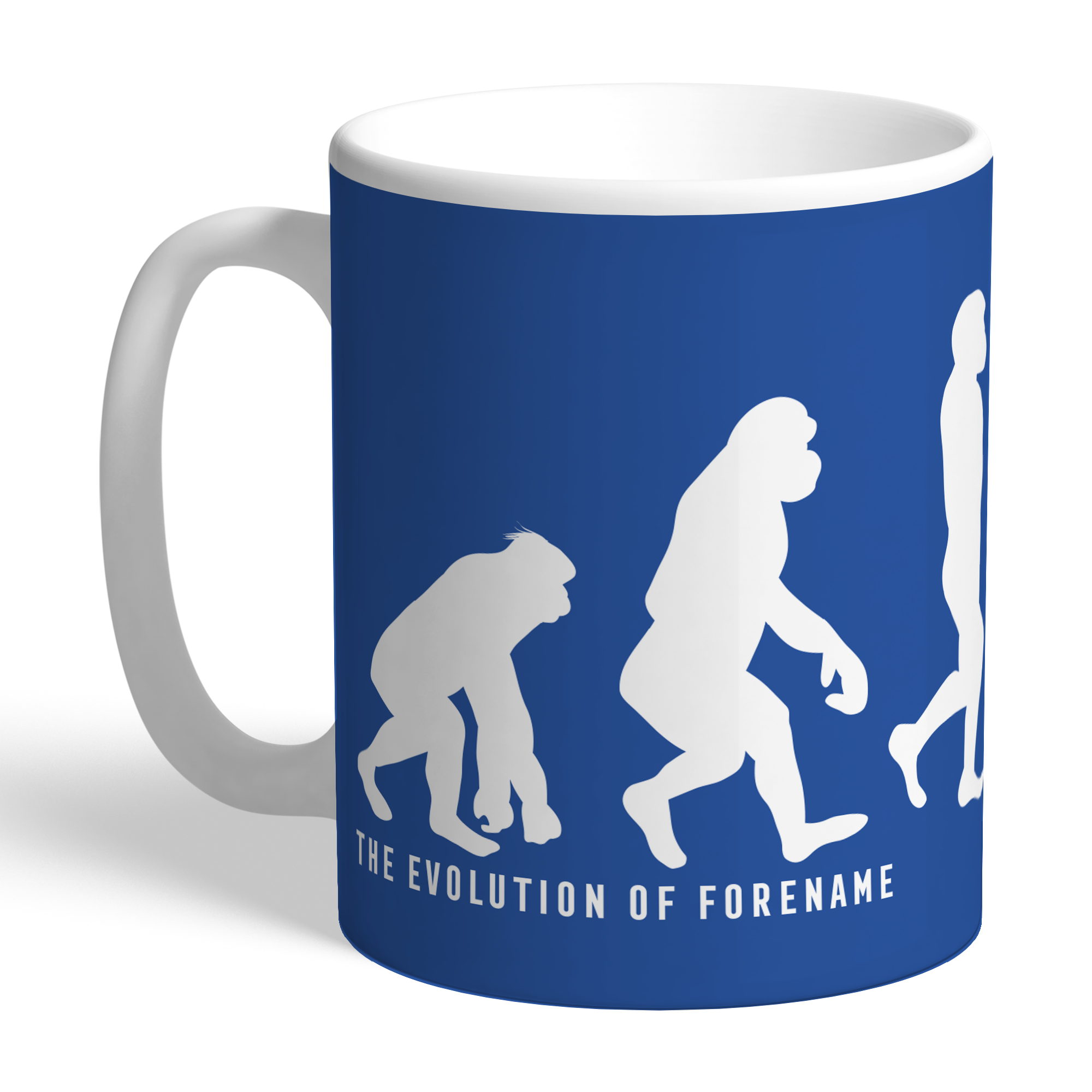 Leicester City FC Evolution Mug