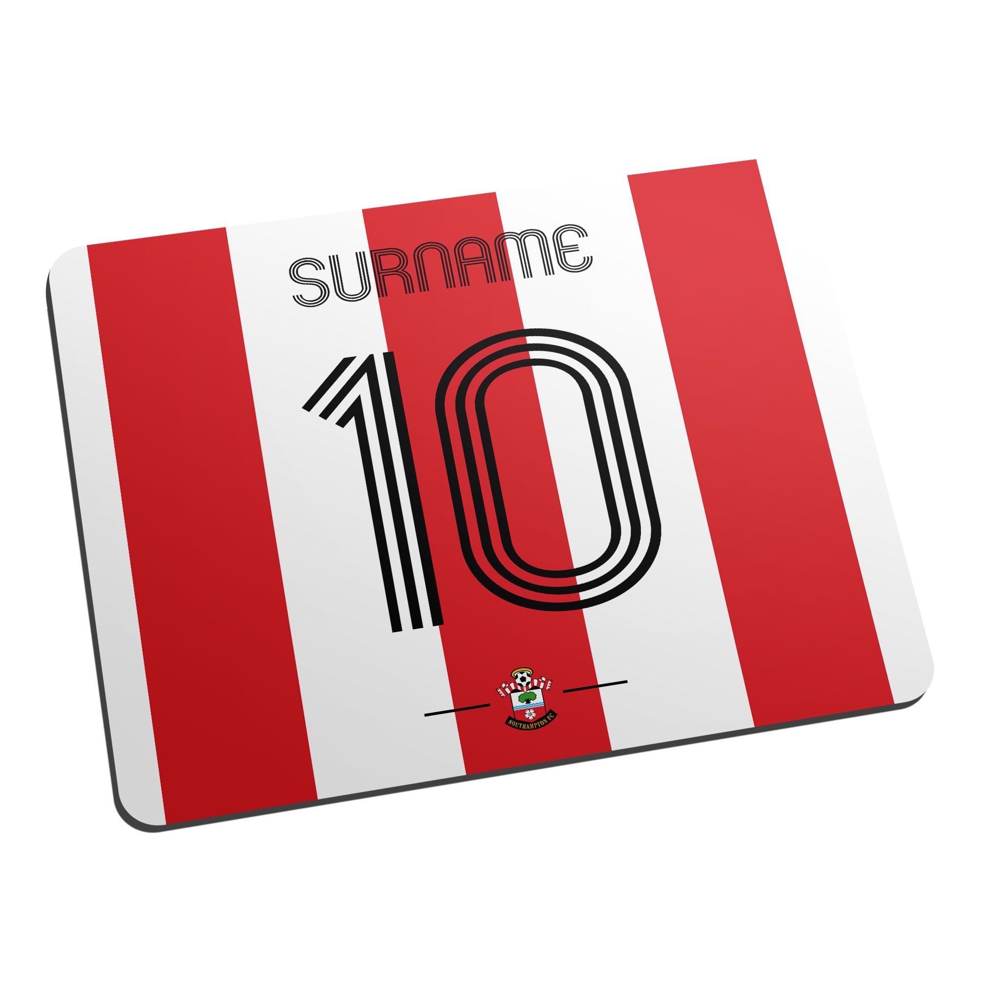 Southampton FC Retro Shirt Mouse Mat
