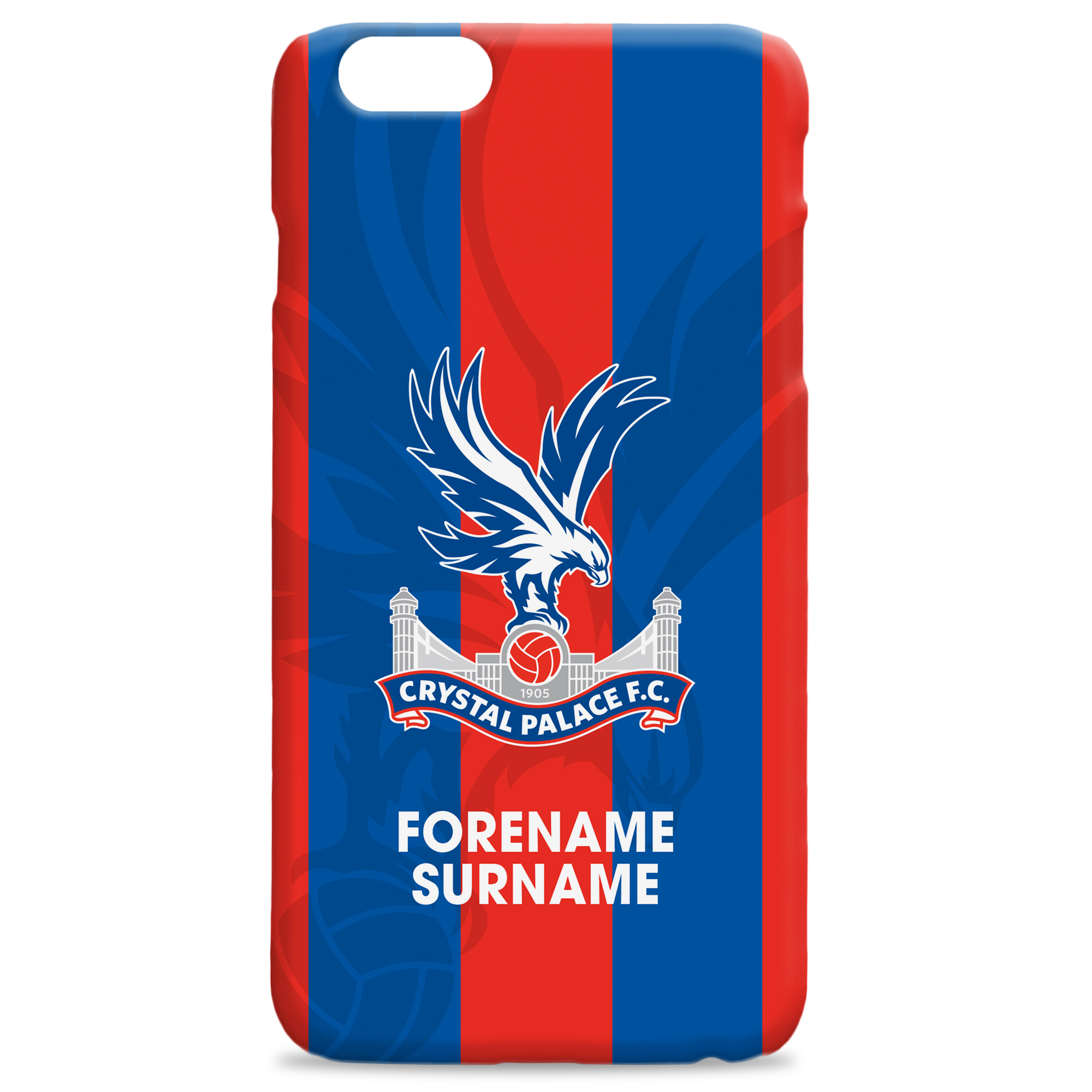 Crystal Palace Bold Crest Hard Back Phone Case