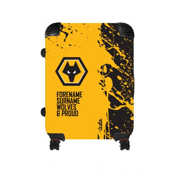 Wolverhampton Wanderers FC Proud Medium Suitcase