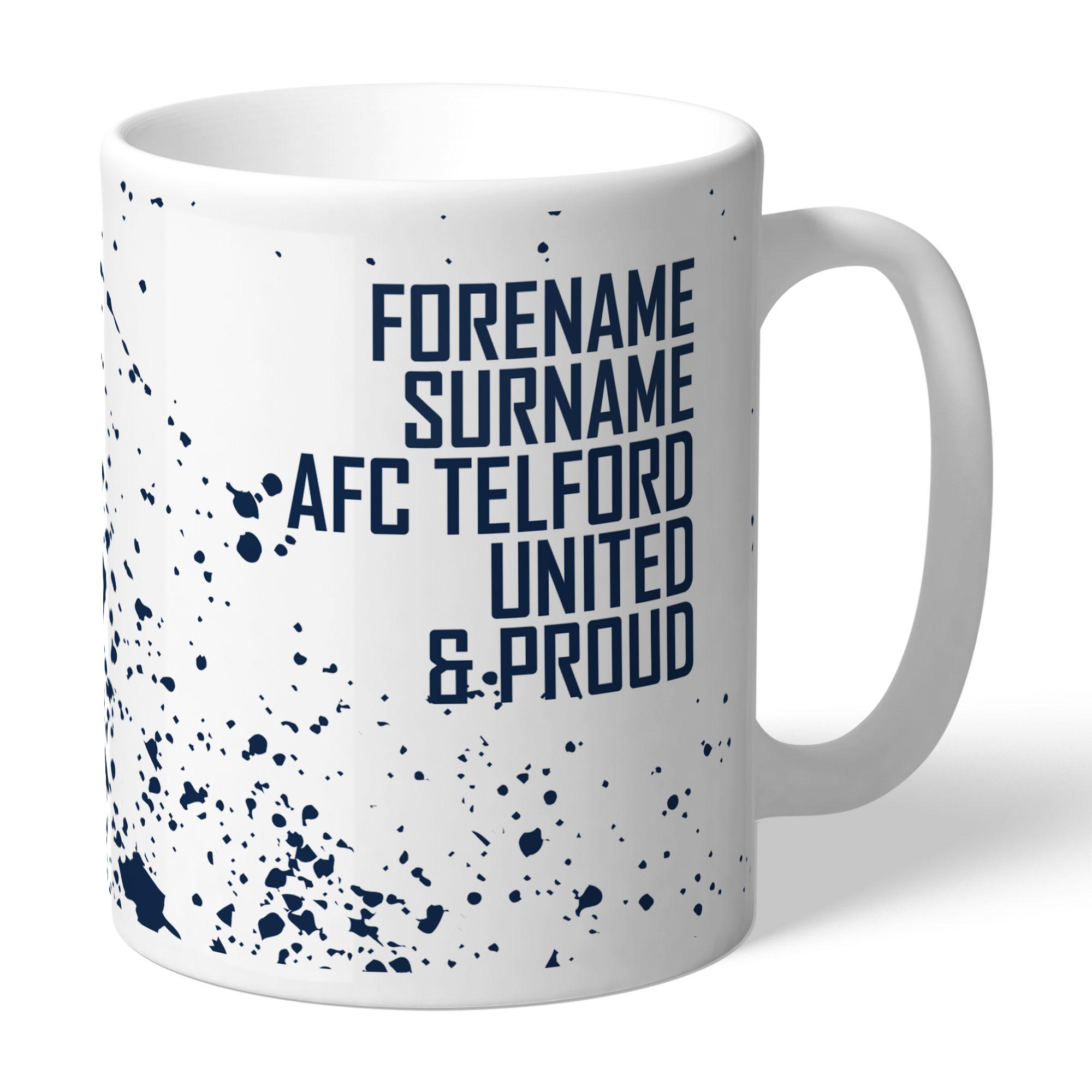 AFC Telford United Proud Mug