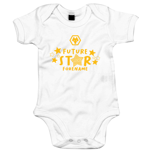 Wolves Future Star Baby Bodysuit