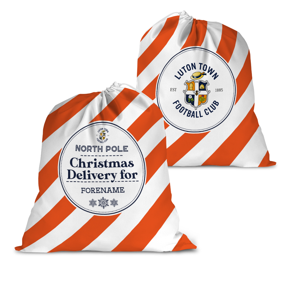 Luton Town FC Christmas Delivery Santa Sack