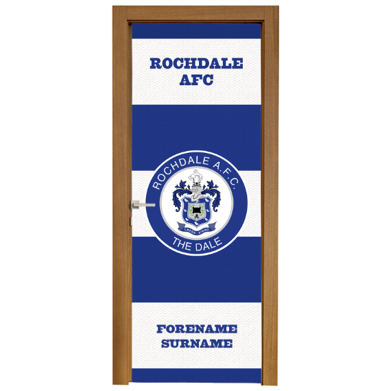 Rochdale AFC Scarf Door Banner
