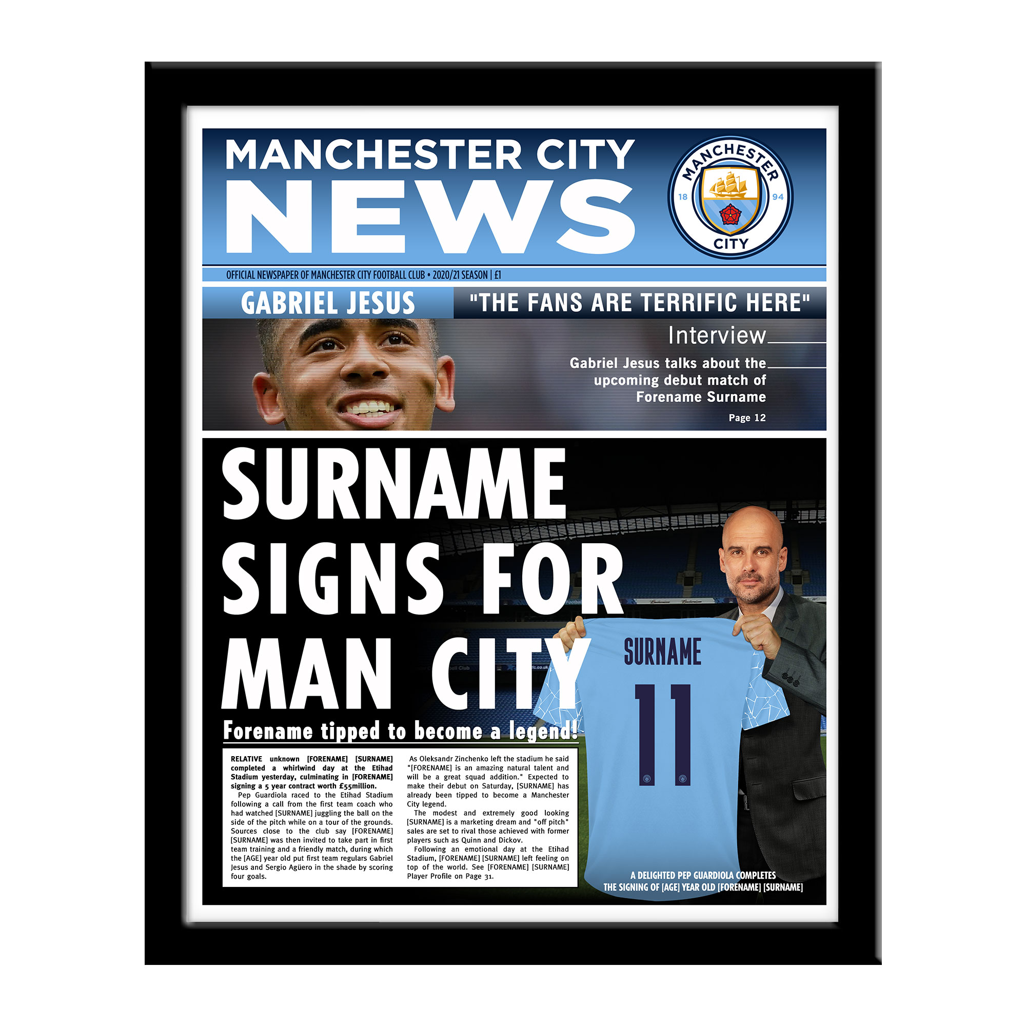 Manchester City FC News