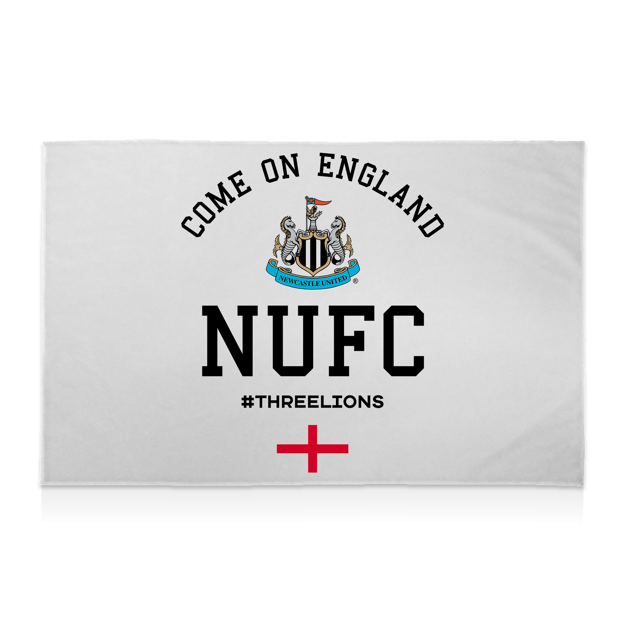 Newcastle United FC Come On England 8ft x 5ft Banner