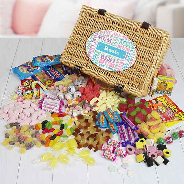 Best Mum - Retro Sweet Hamper
