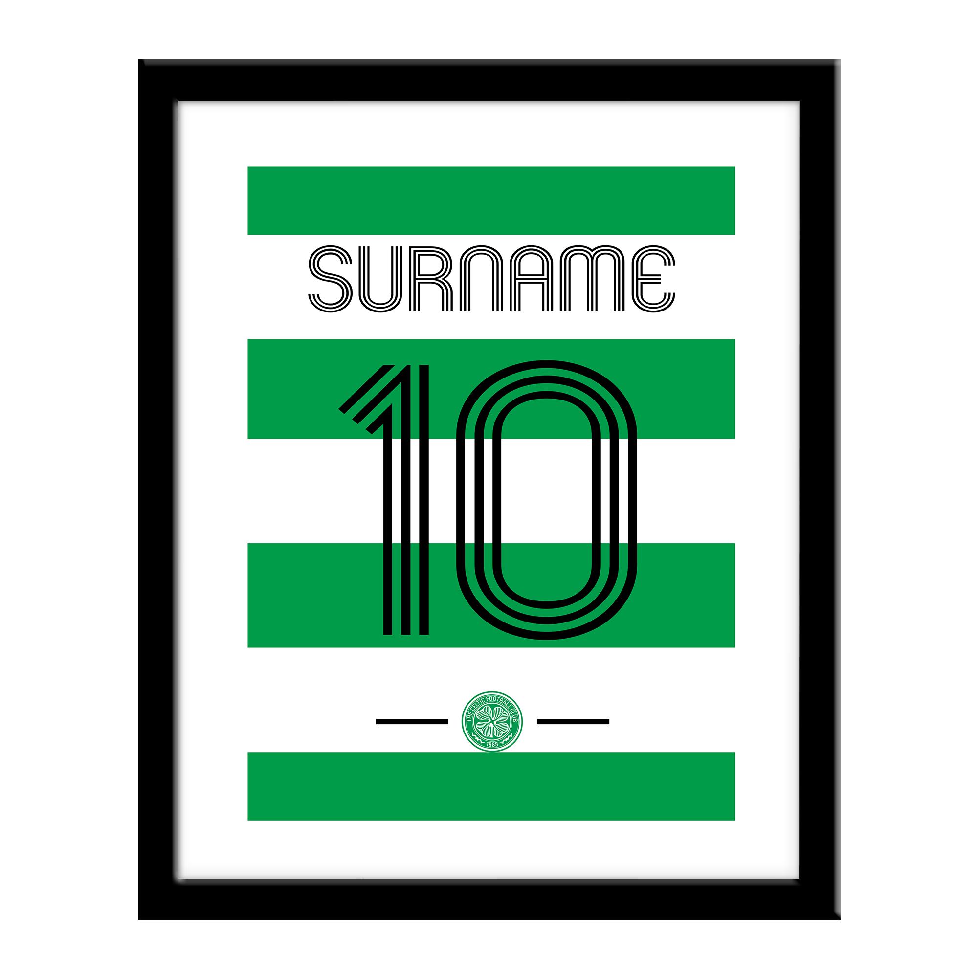 Celtic FC Retro Shirt Print