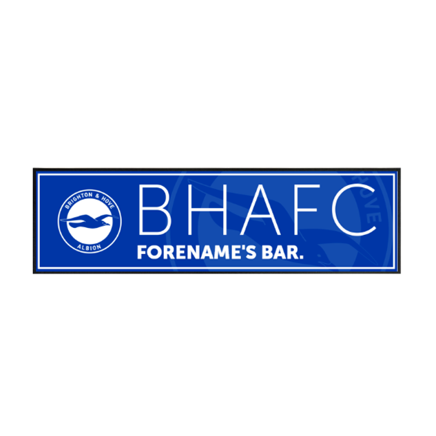 Brighton & Hove Albion FC Mono Crest Large Bar Runner