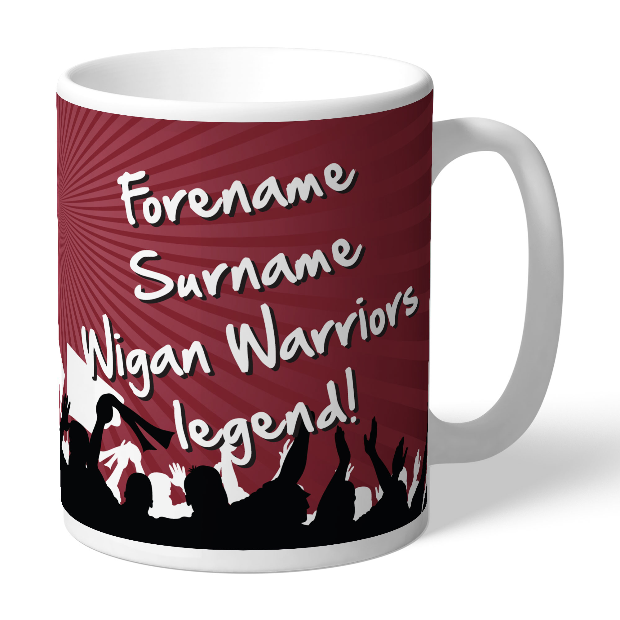 Wigan Warriors Legend Mug