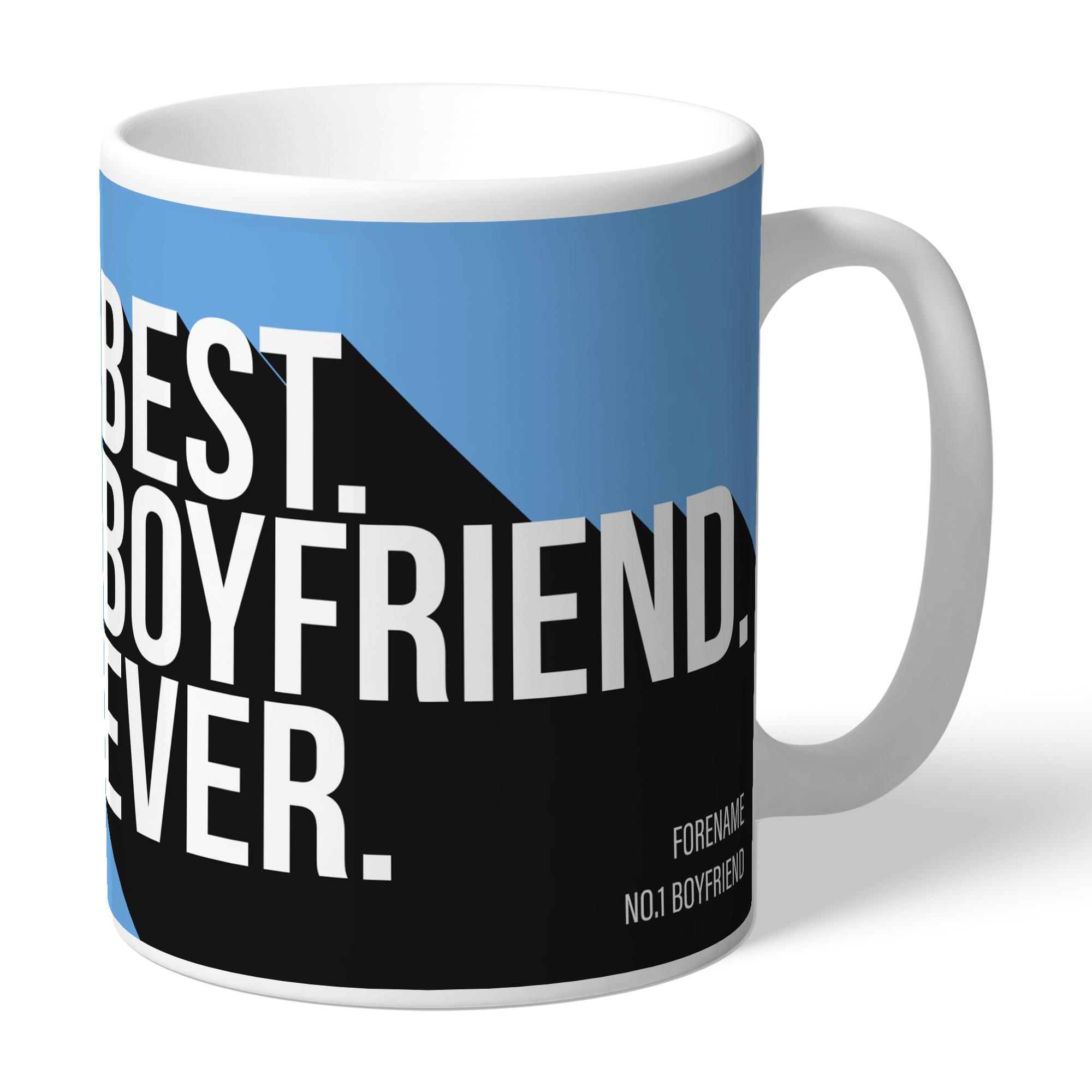 Manchester City FC Best Boyfriend Ever Mug