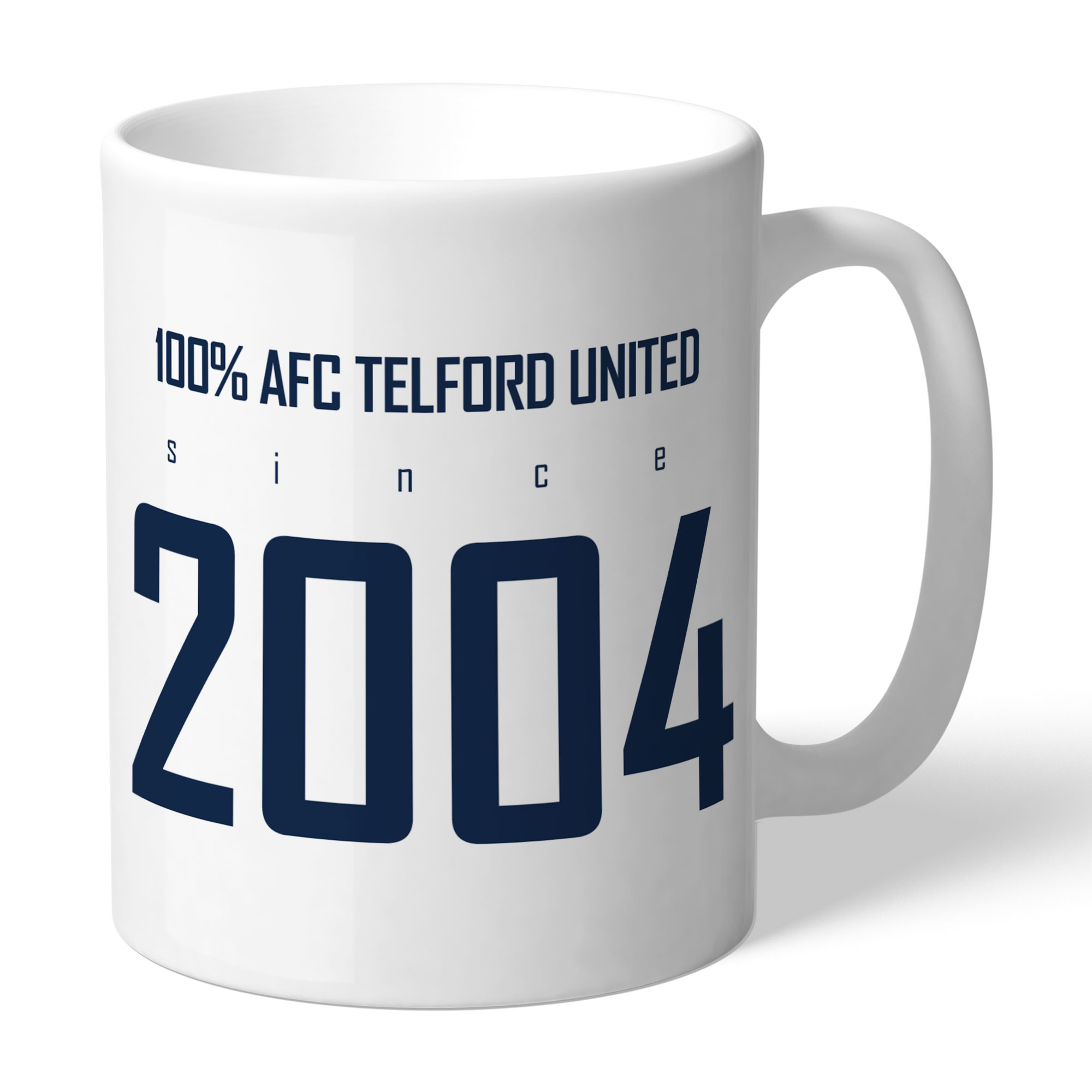 AFC Telford United 100 Percent Mug