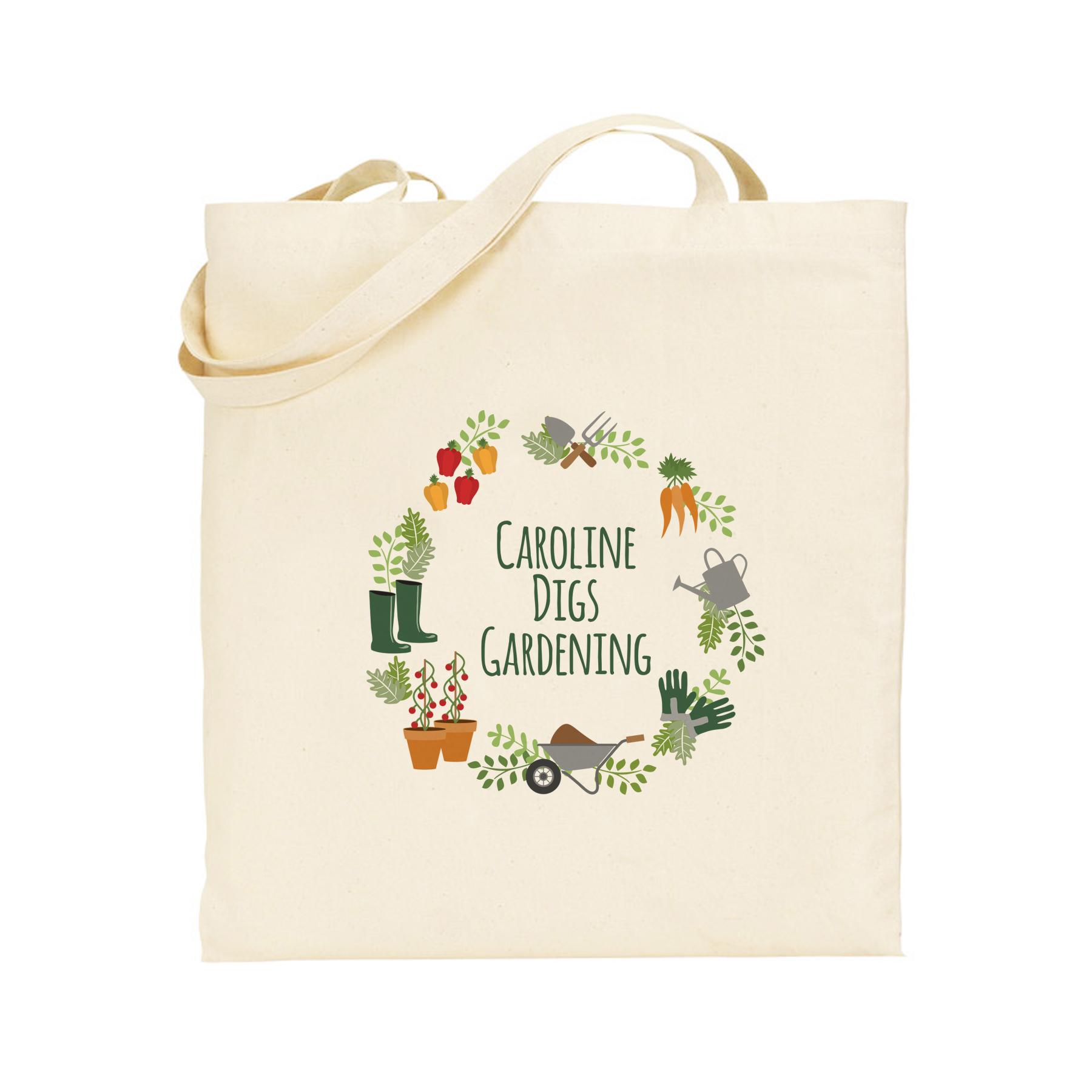 Digs Gardening Tote Bag