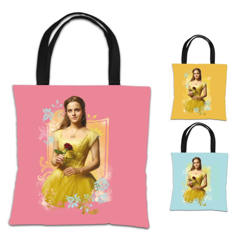 Disney Beauty And The Beast Belle Rose Tote Bag