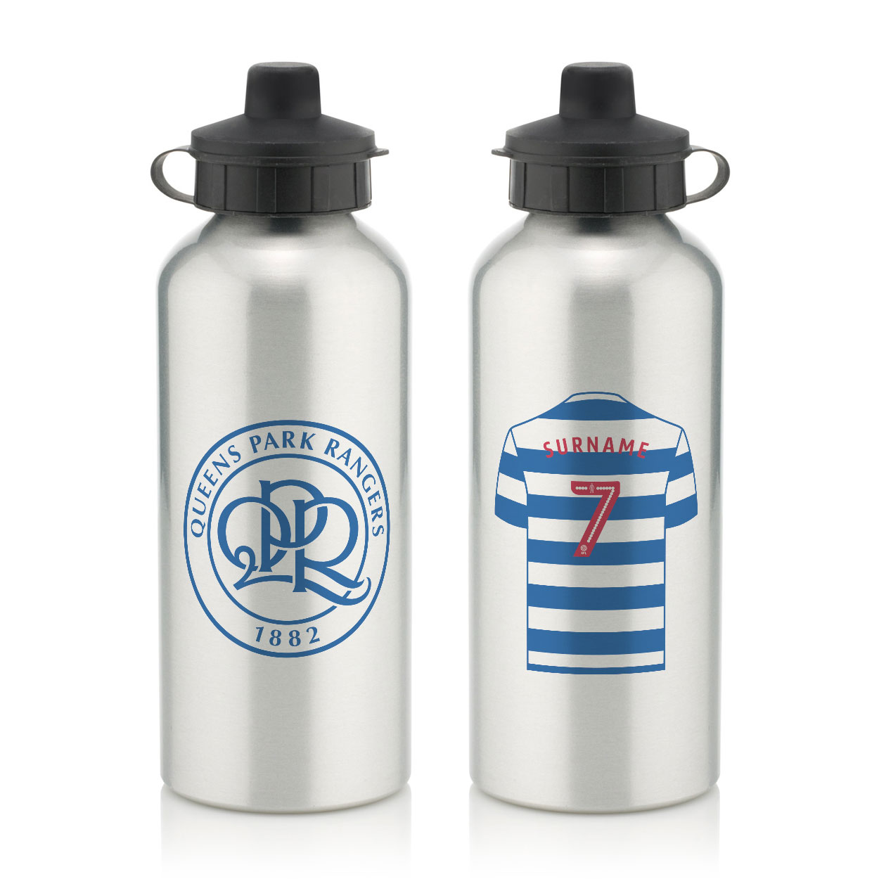 Queens Park Rangers FC Aluminium Water Bottle