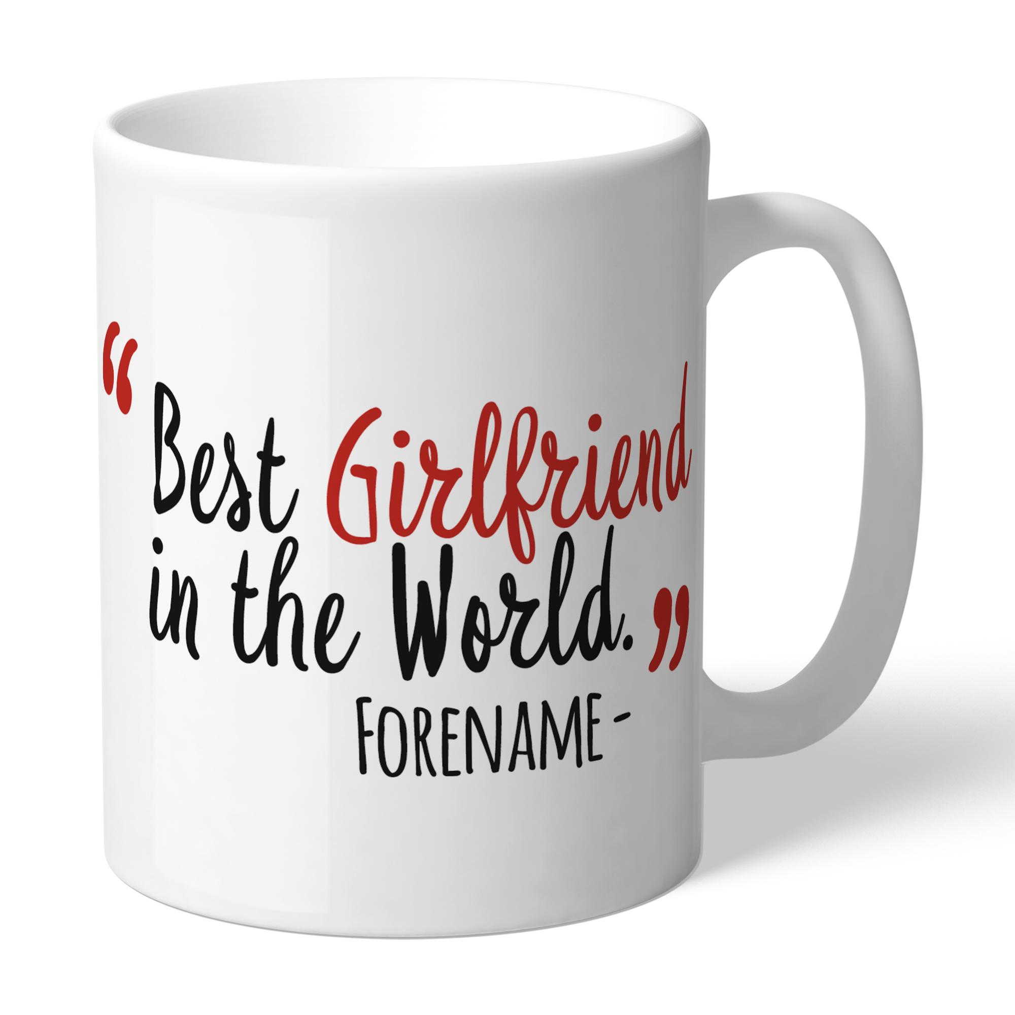 Nottingham Forest Best Girlfriend In The World Mug