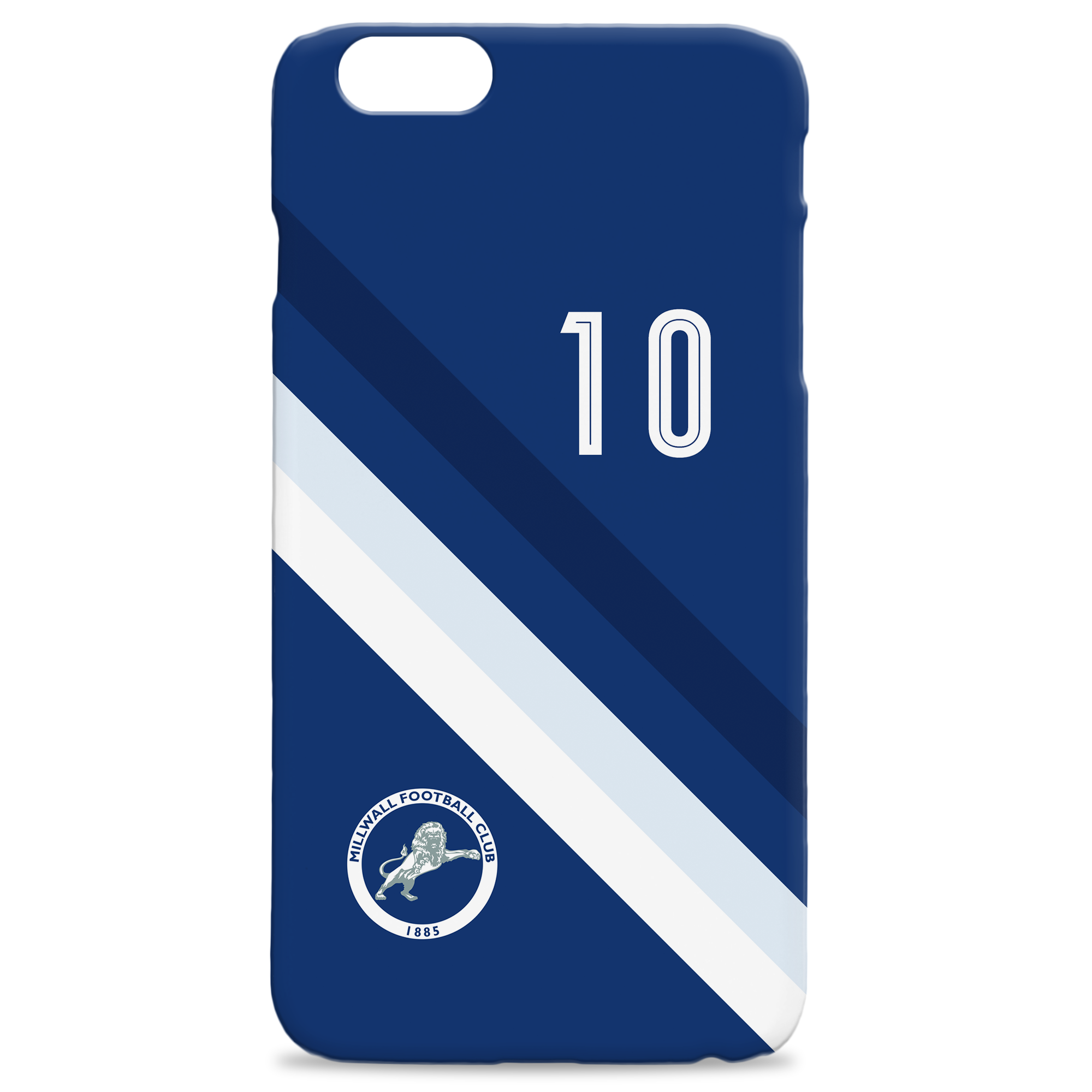 Millwall Stripe Hard Back Phone Case