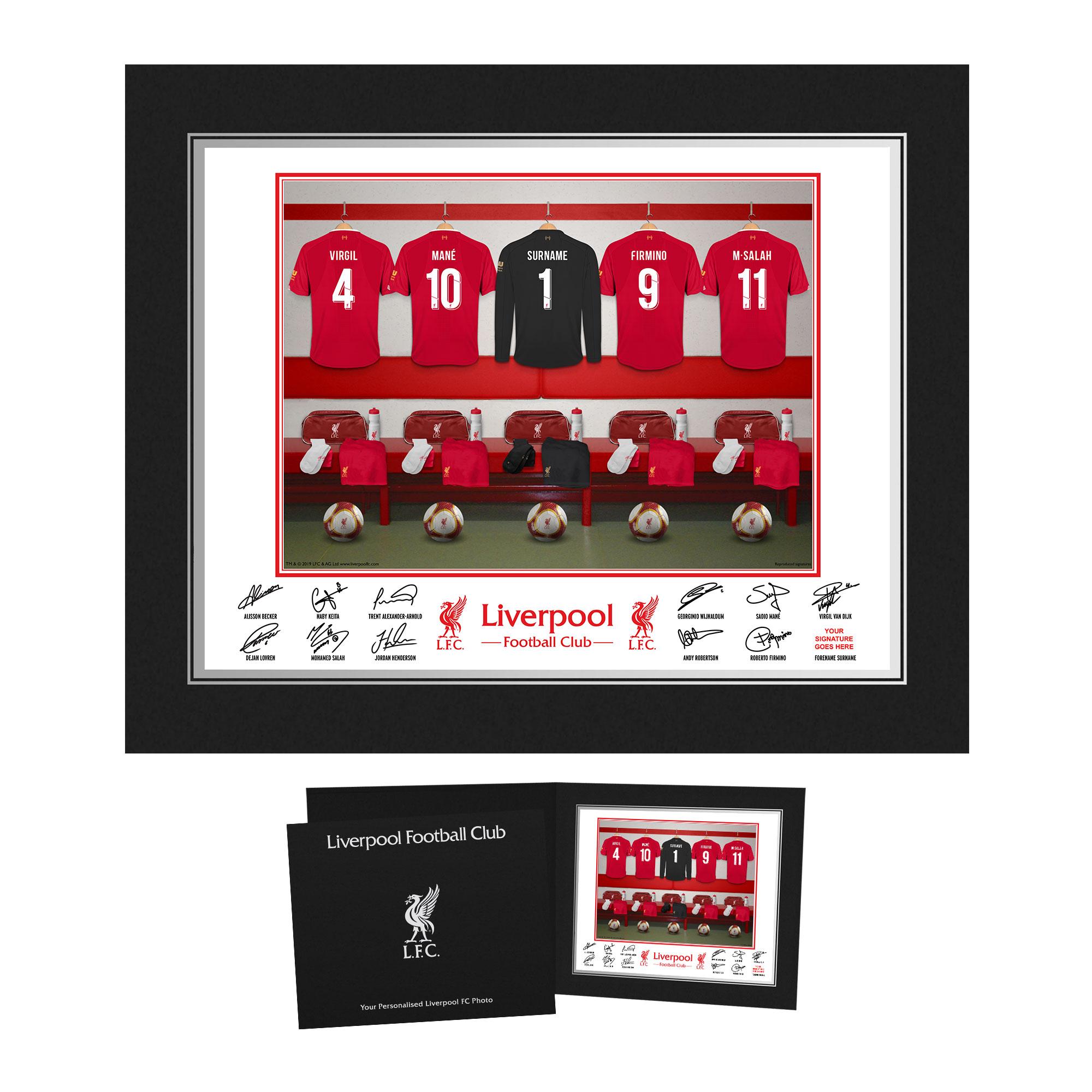 LFC Goalkeeper Dressing Room Photo Folder