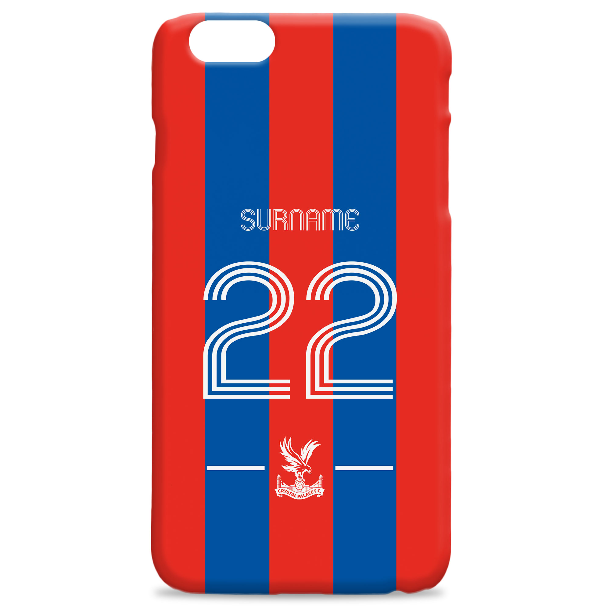 Crystal Palace FC Retro Shirt Hard Back Phone Case