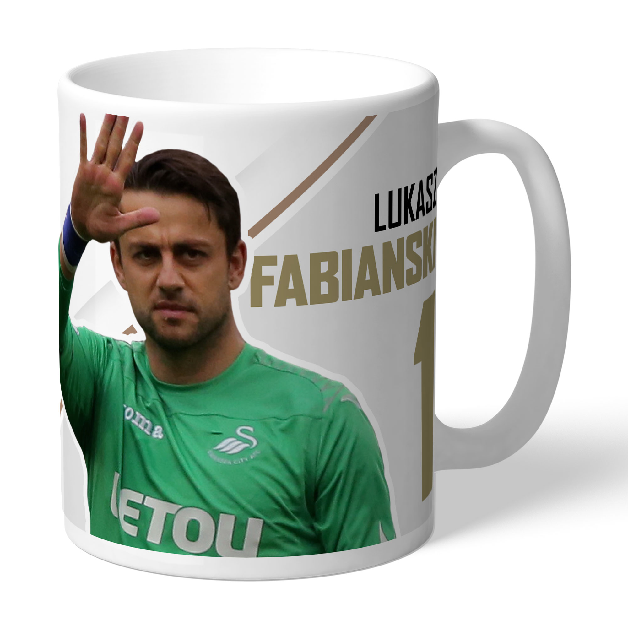 Swansea City AFC Fabianski Autograph Mug