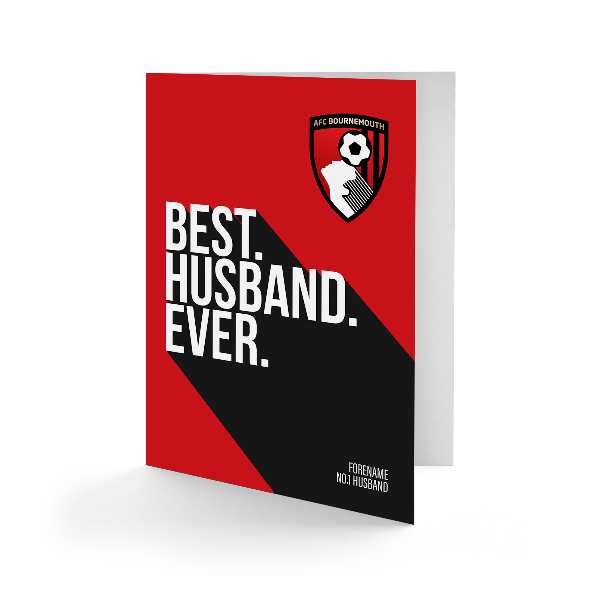 AFC Bournemouth Best Husband Ever Card