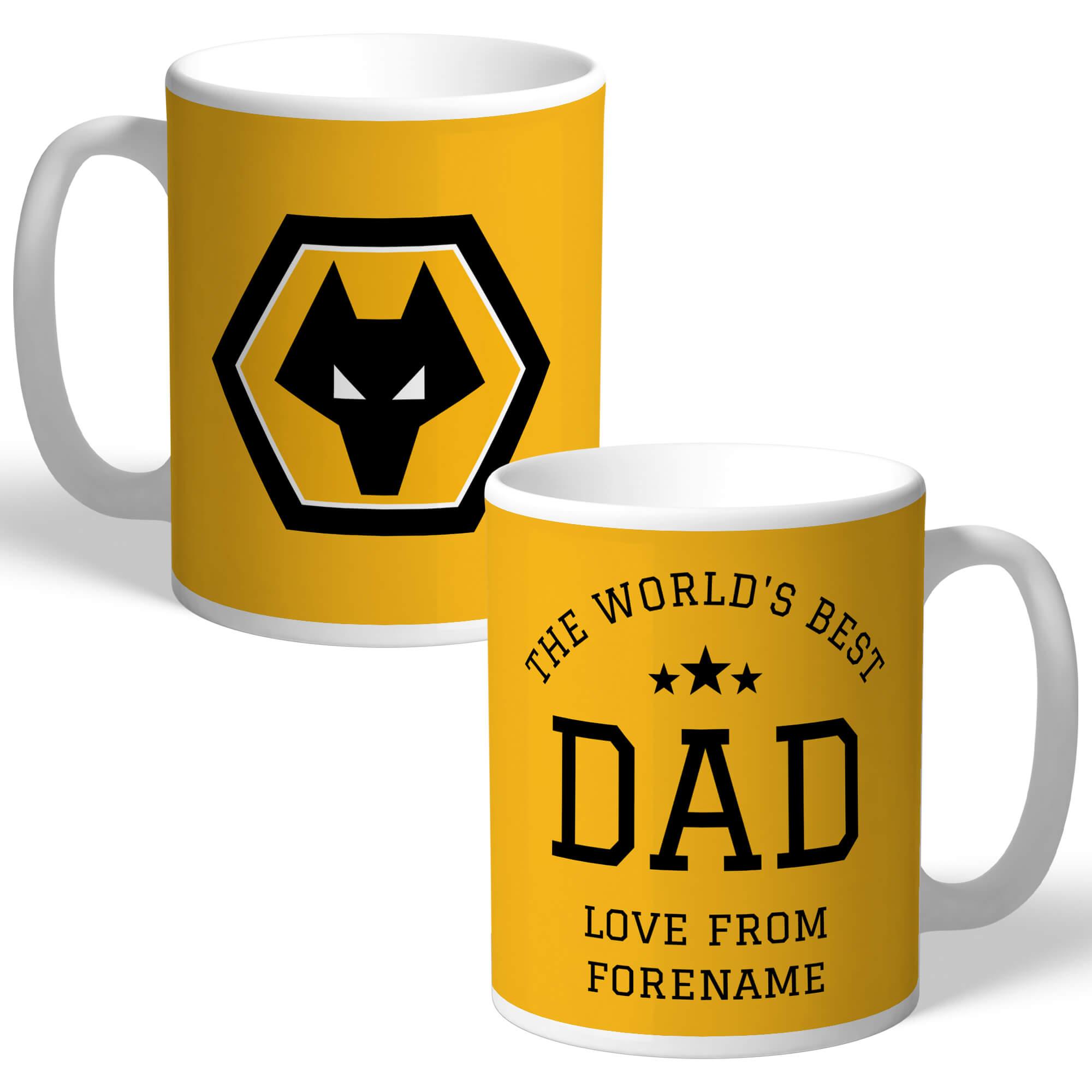 Wolves World's Best Dad Mug