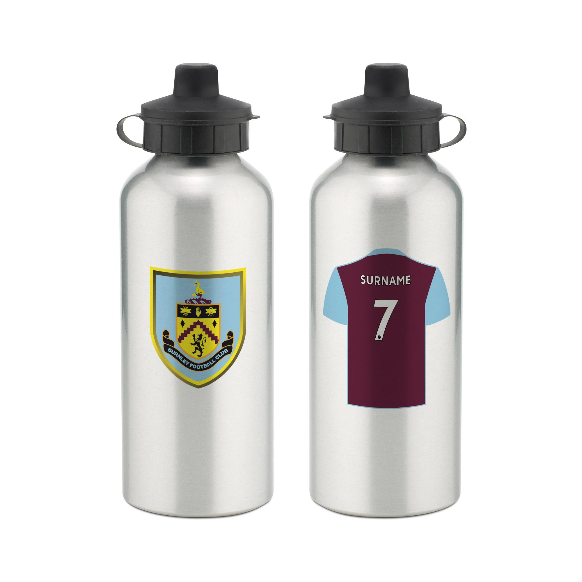 Derby County F.C Personalised Aluminium Water Bottle RETRO SHIRT
