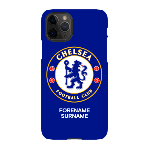 Chelsea FC Bold Crest iPhone 11 Pro Phone Case