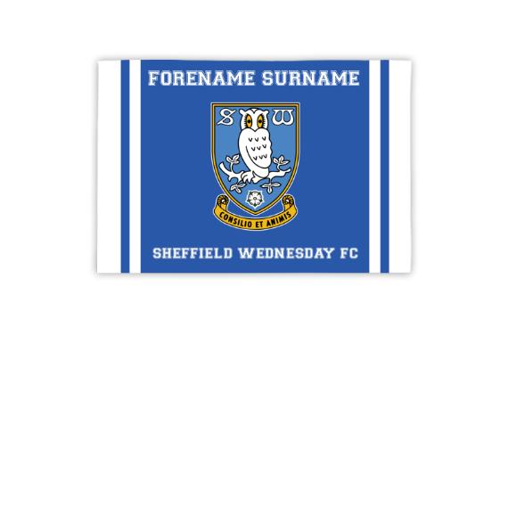 Sheffield Wednesday FC Crest 3ft x 2ft Banner