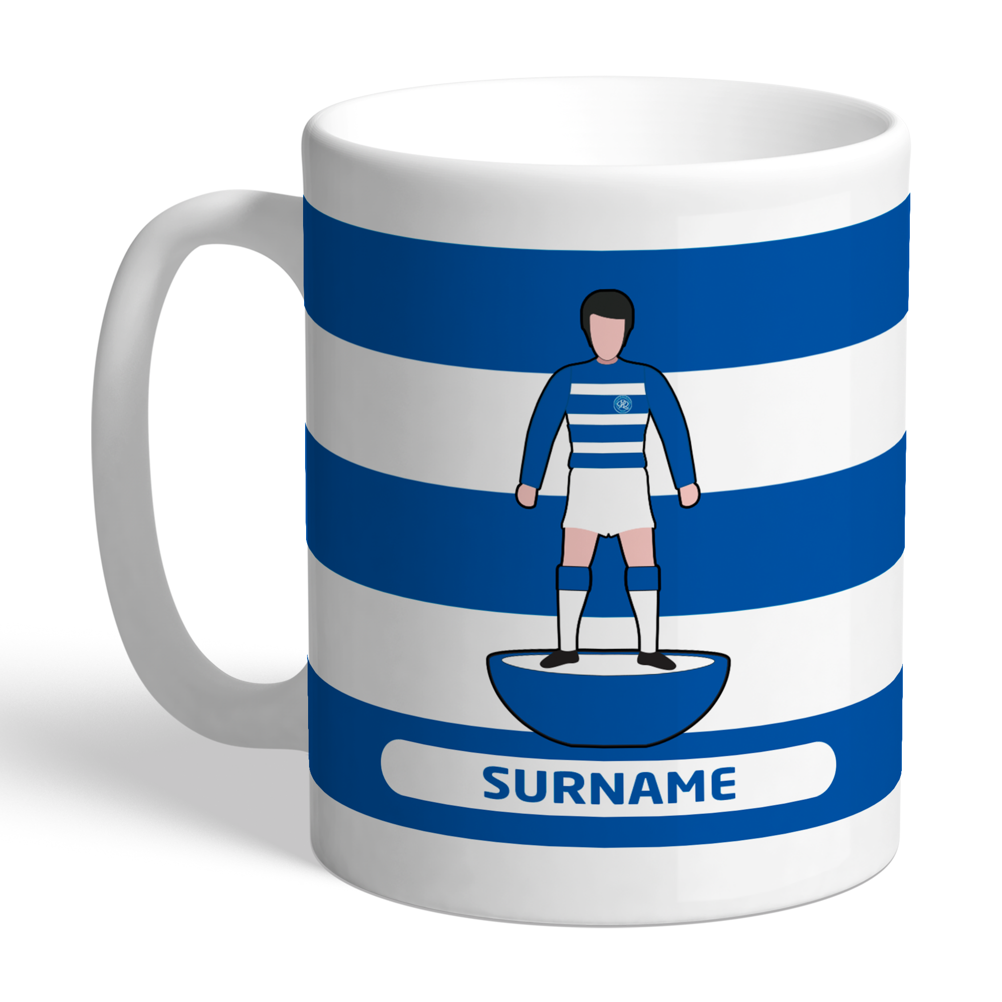 Queens Park Rangers FC Player Figure Mug