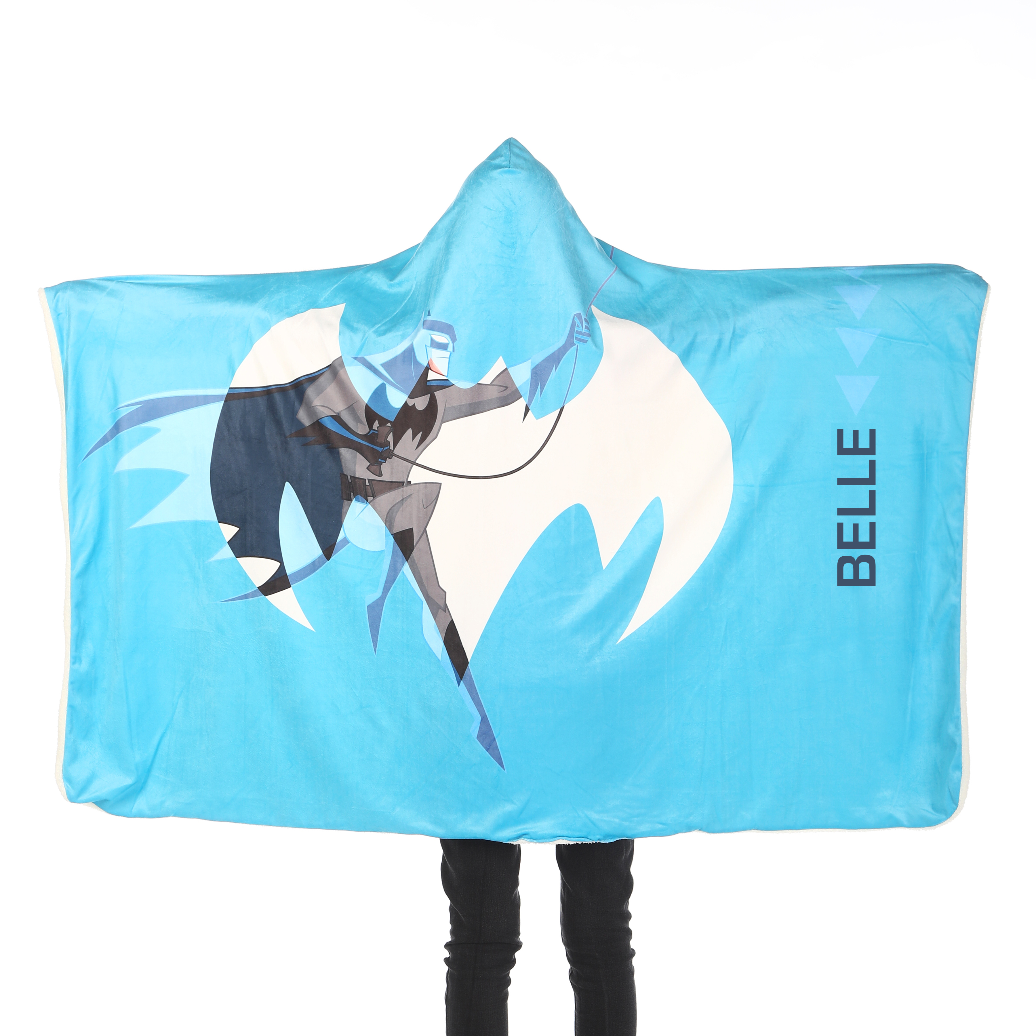 Batman™ Kids Hooded Blanket - Blue
