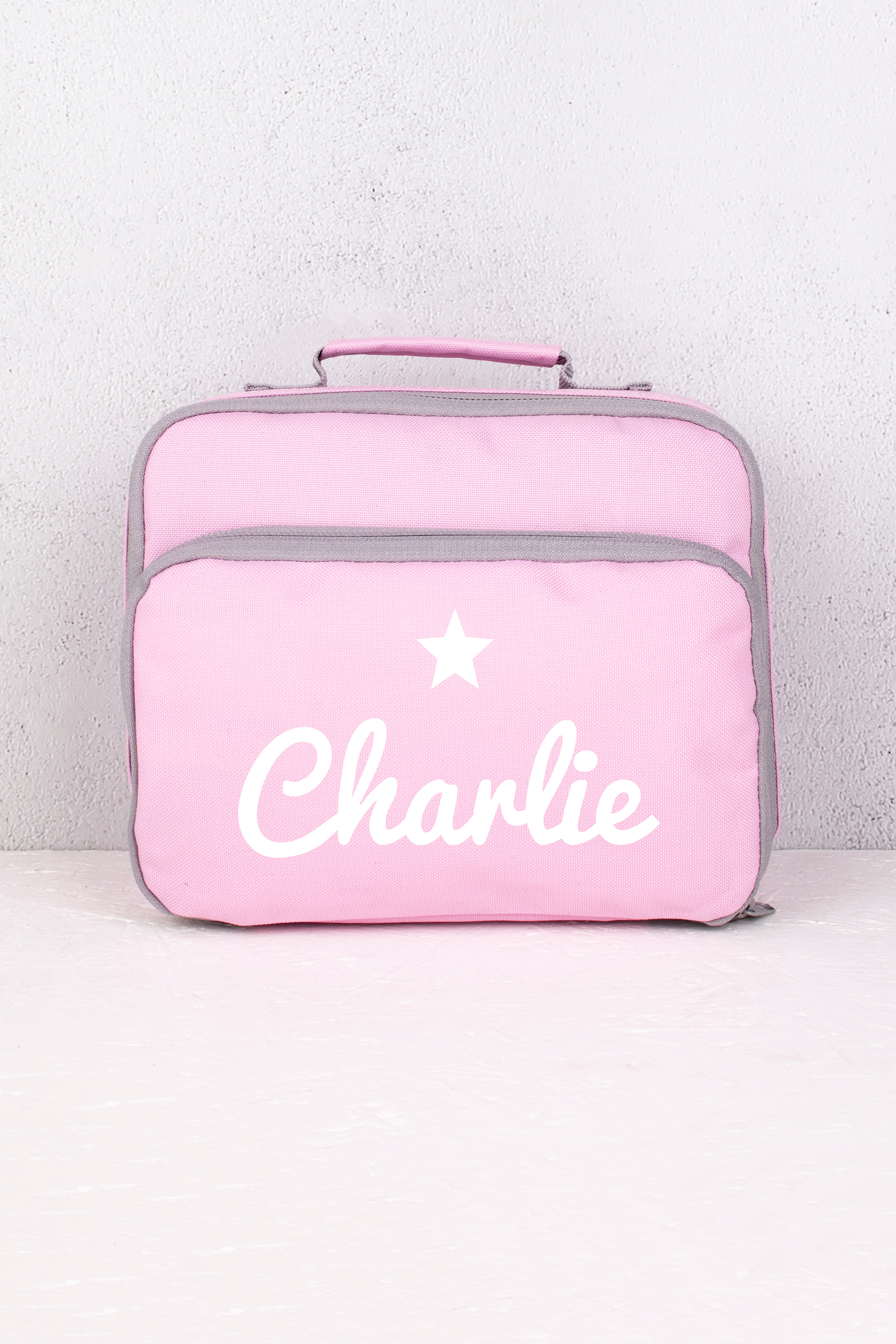 Pink Star Lunch Bag