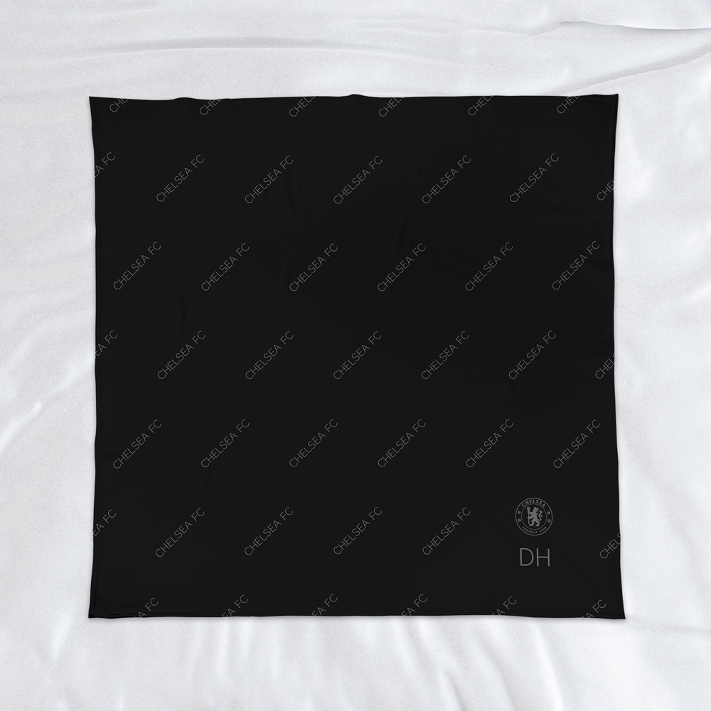 Chelsea FC Pattern Fleece Blanket