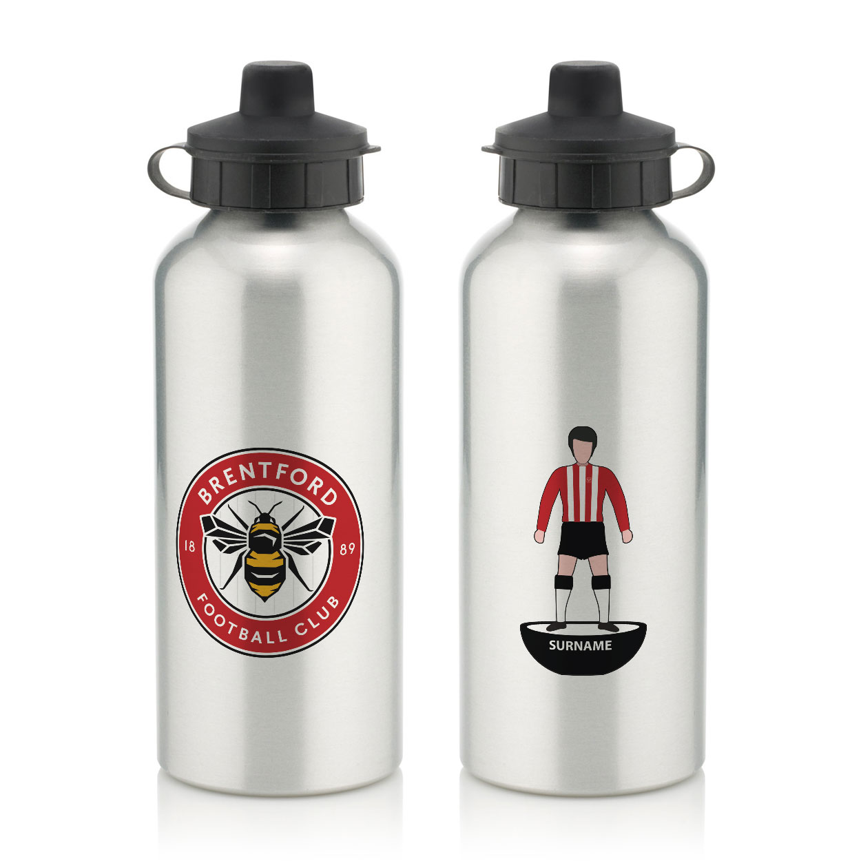 Brentford Player Figure Water Bottle