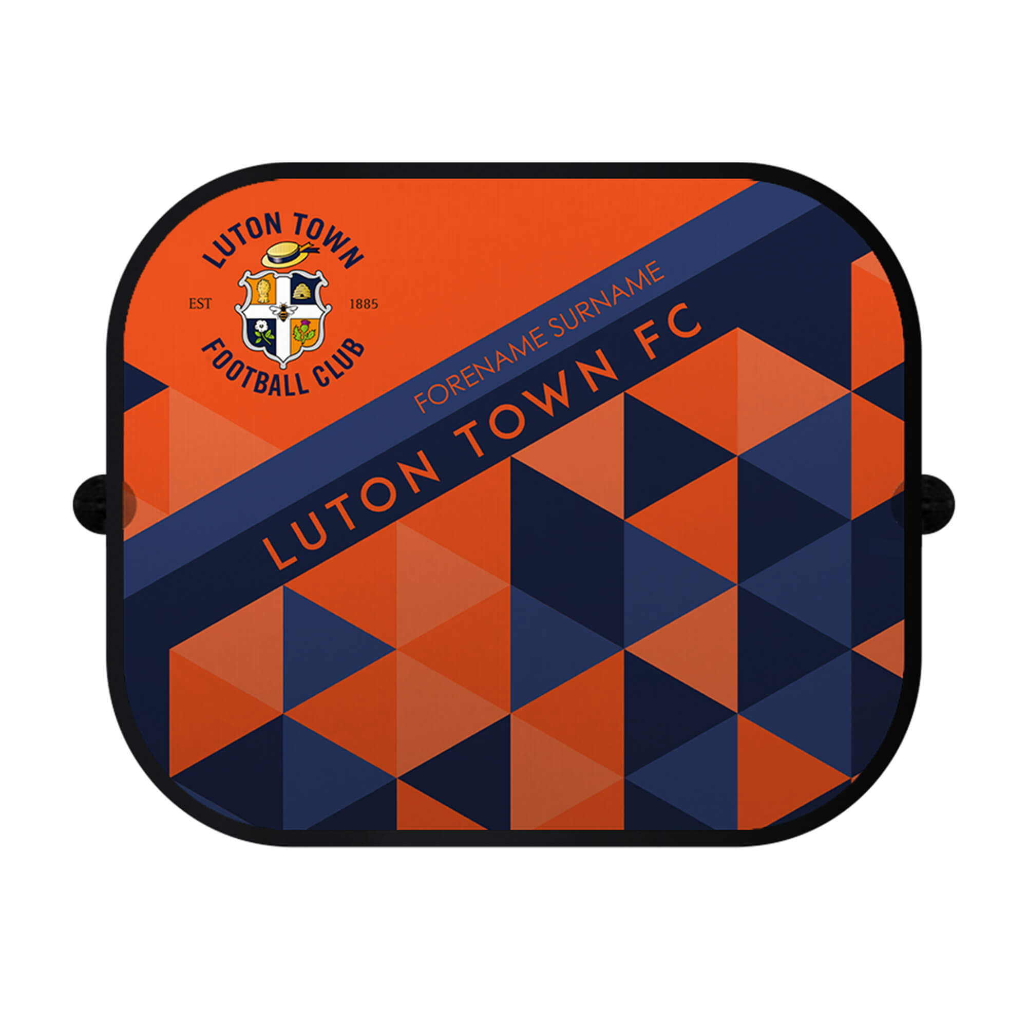 Luton Town FC Patterned Car Sunshade