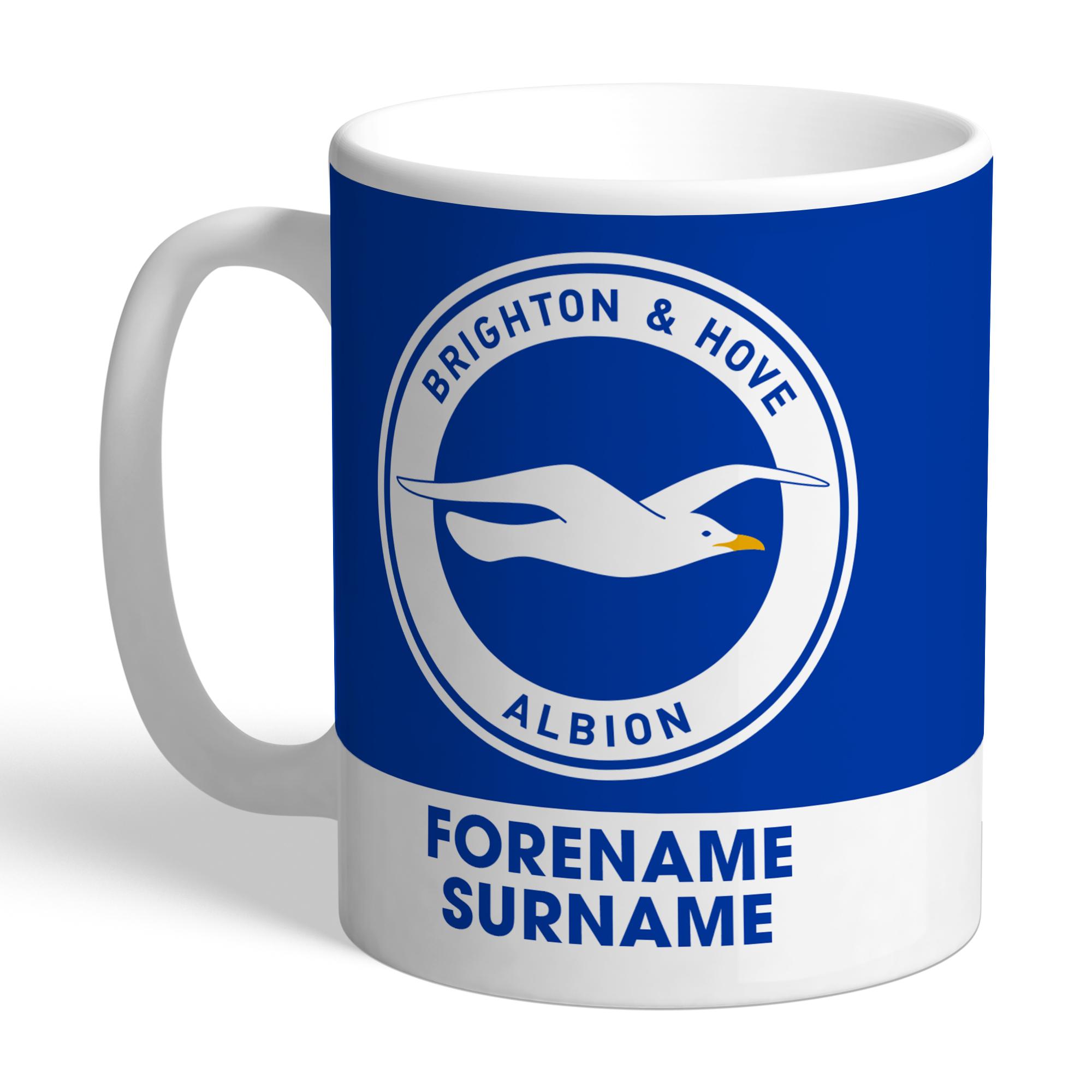 Brighton & Hove Albion FC Bold Crest Mug
