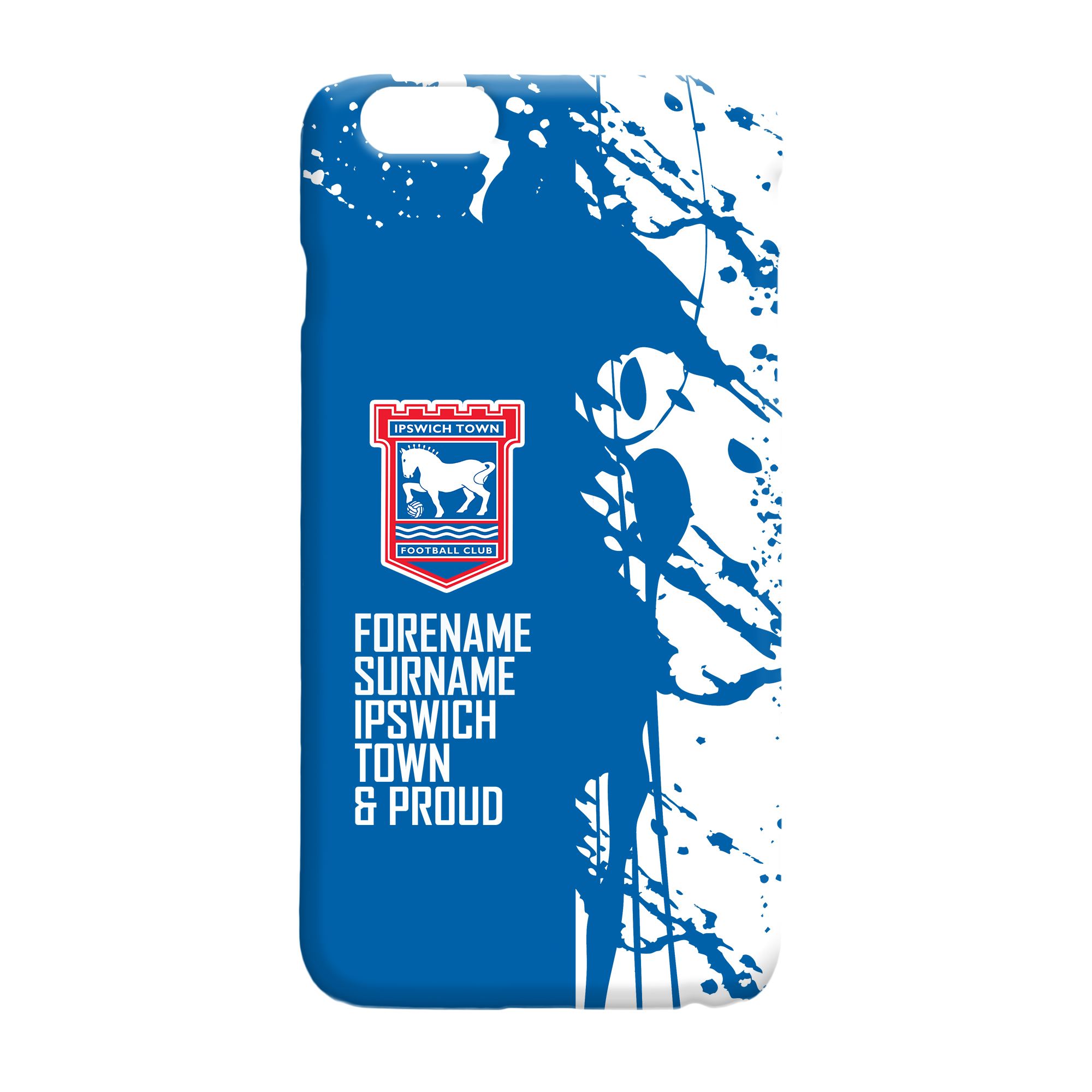 Ipswich Town FC Proud Hard Back Phone Case
