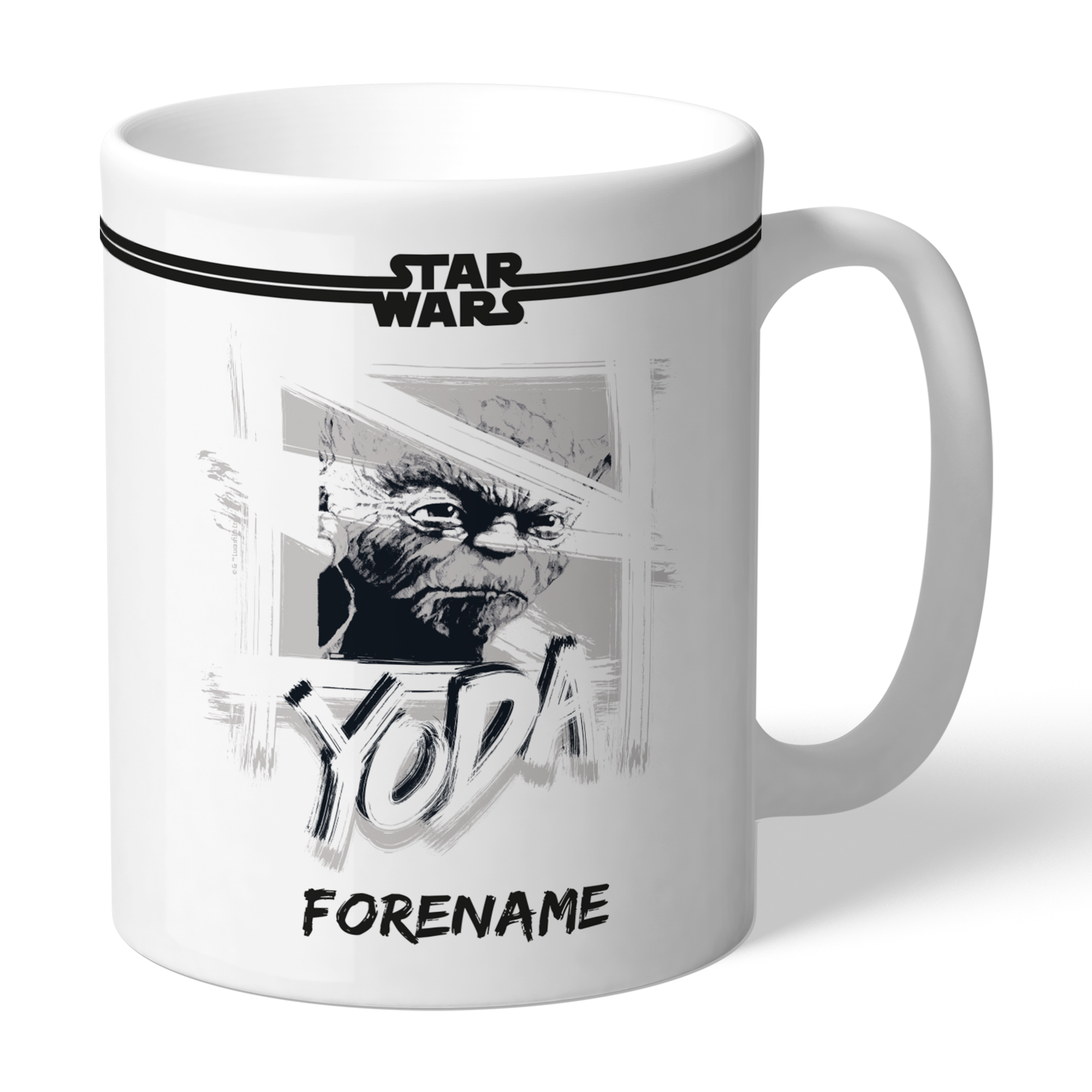 Star Wars Yoda Paint Mug