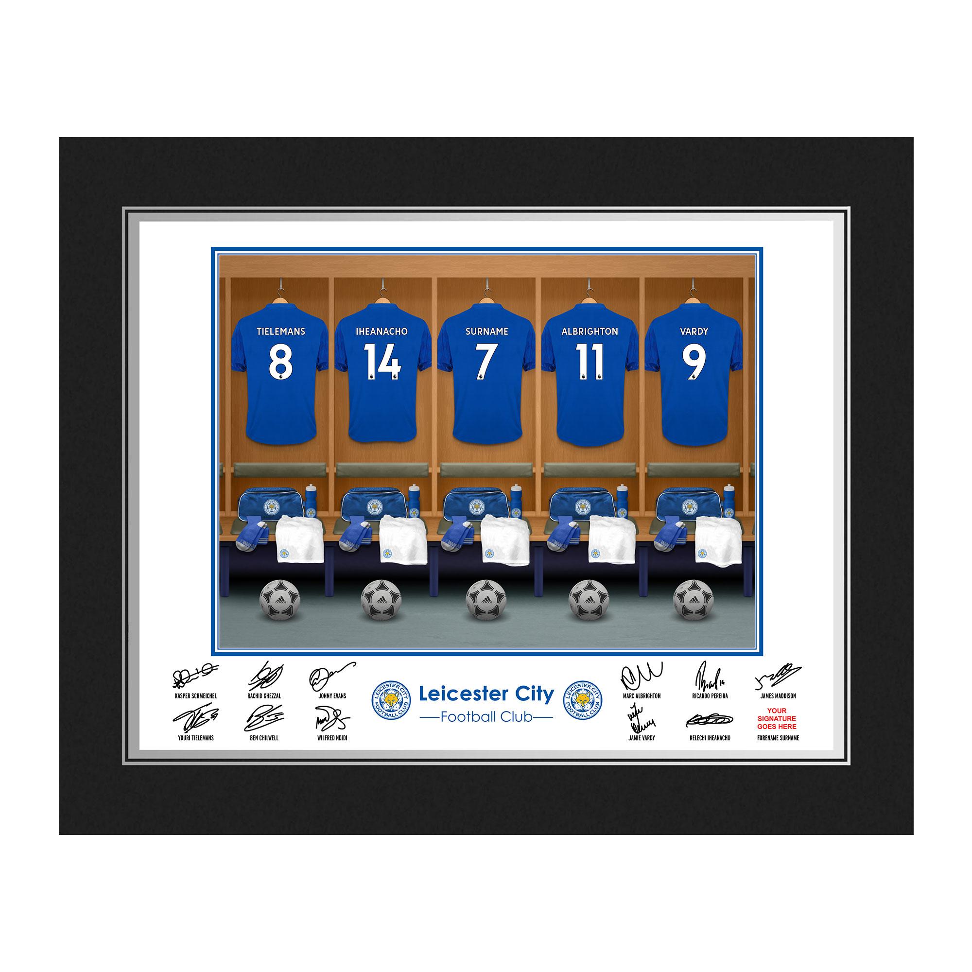 Leicester City FC Dressing Room Photo Folder