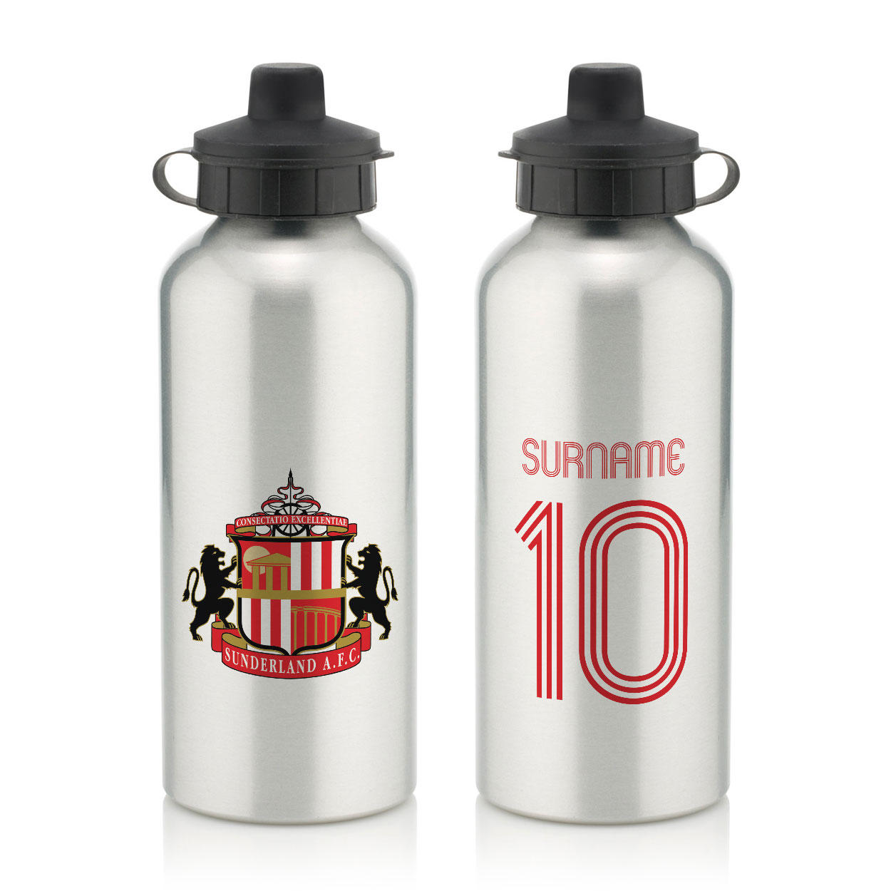 Sunderland AFC Retro Shirt Water Bottle