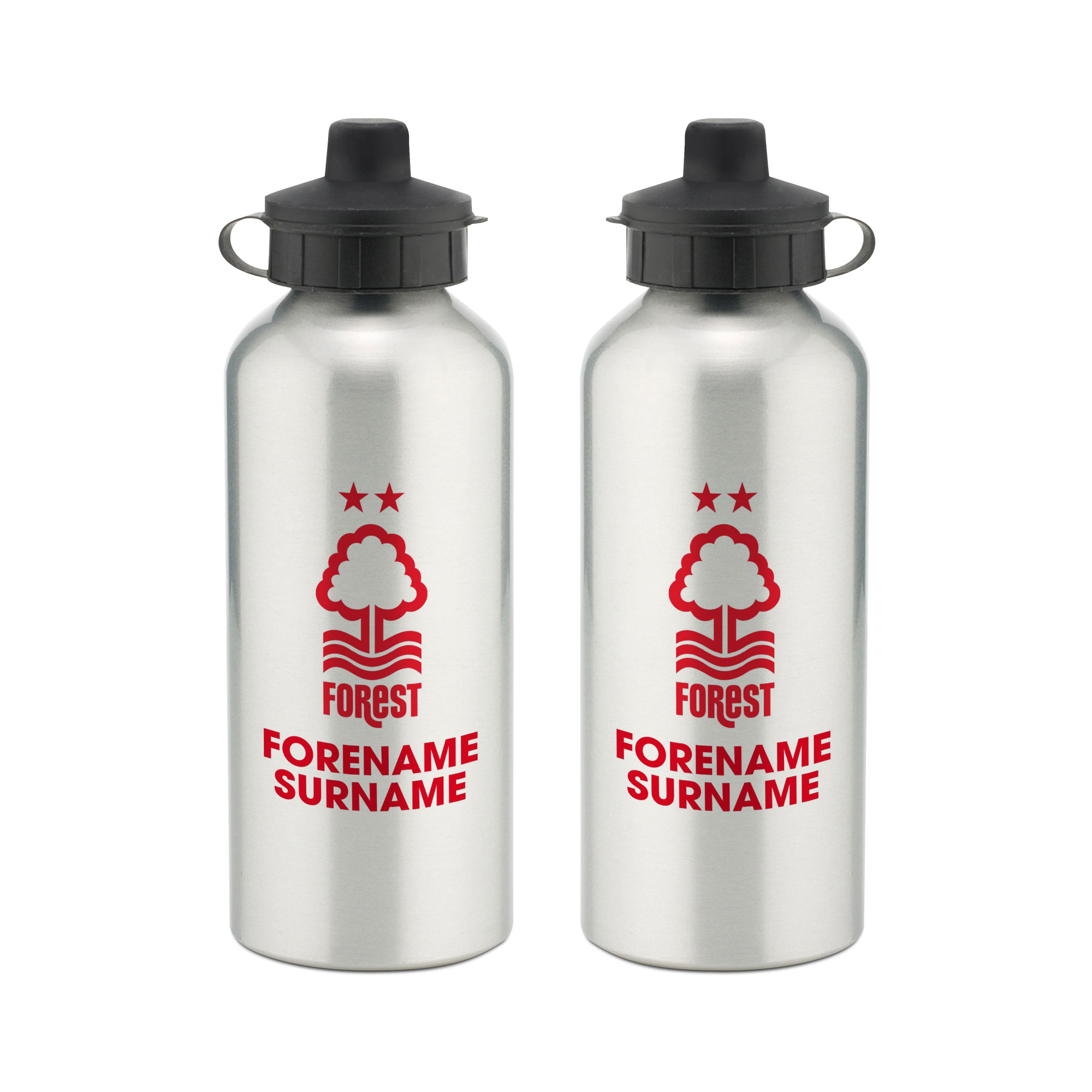 Nottingham Forest Bold Crest Water Bottle
