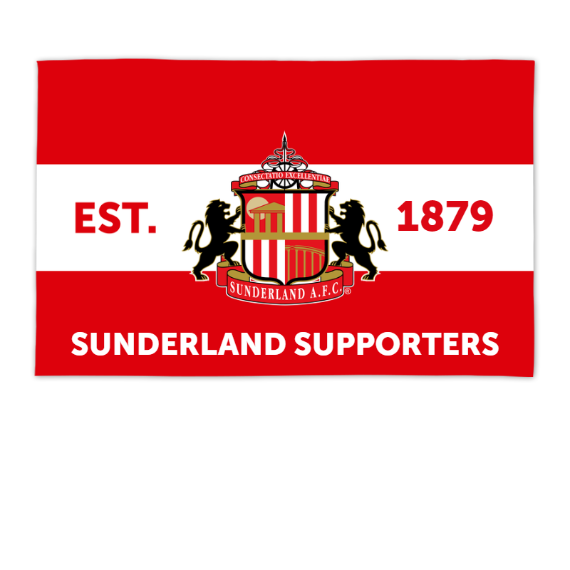 Sunderland Supporters 8ft x 5ft Banner