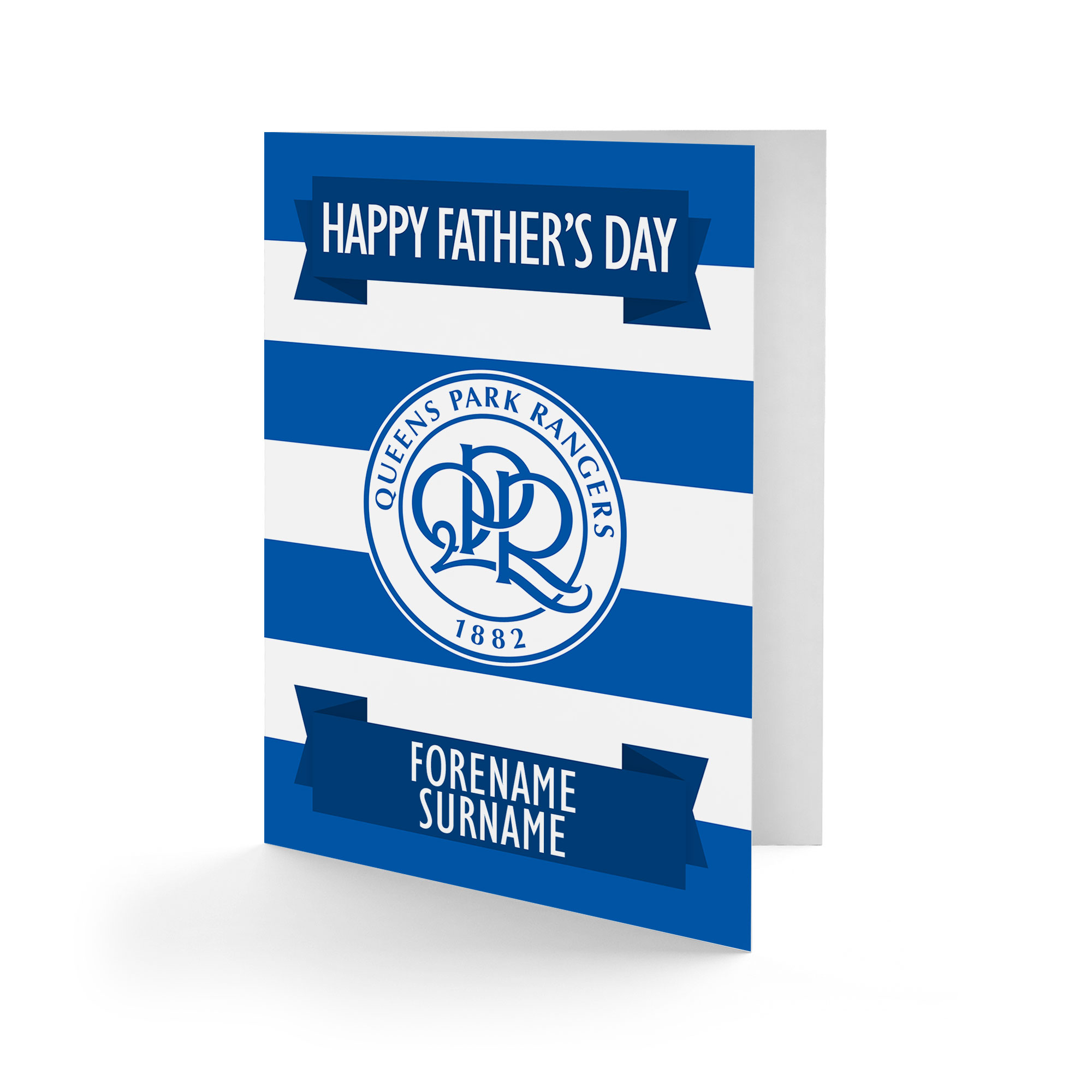 Queens Park Rangers FC Crest Father's Day Card