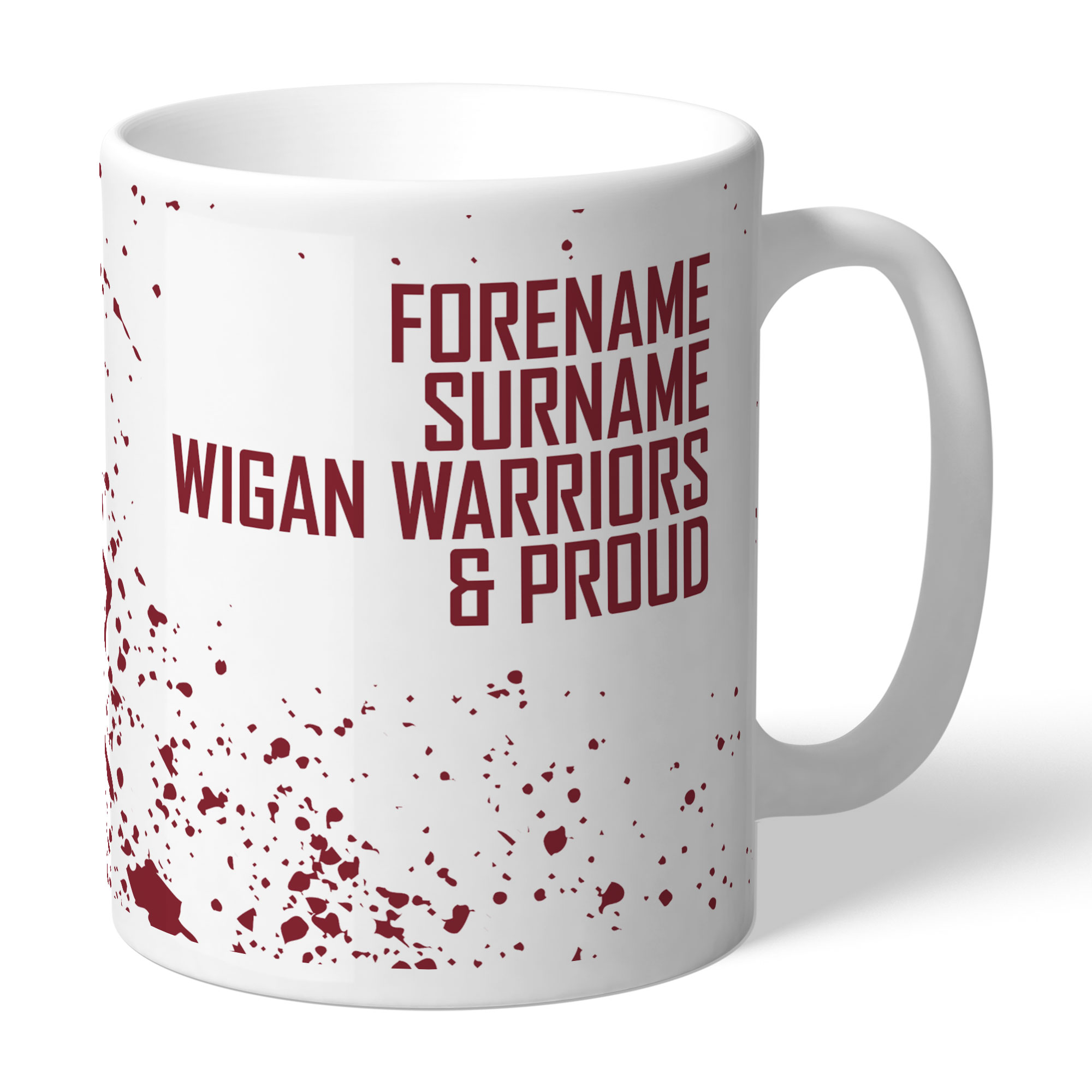 Wigan Warriors Proud Mug